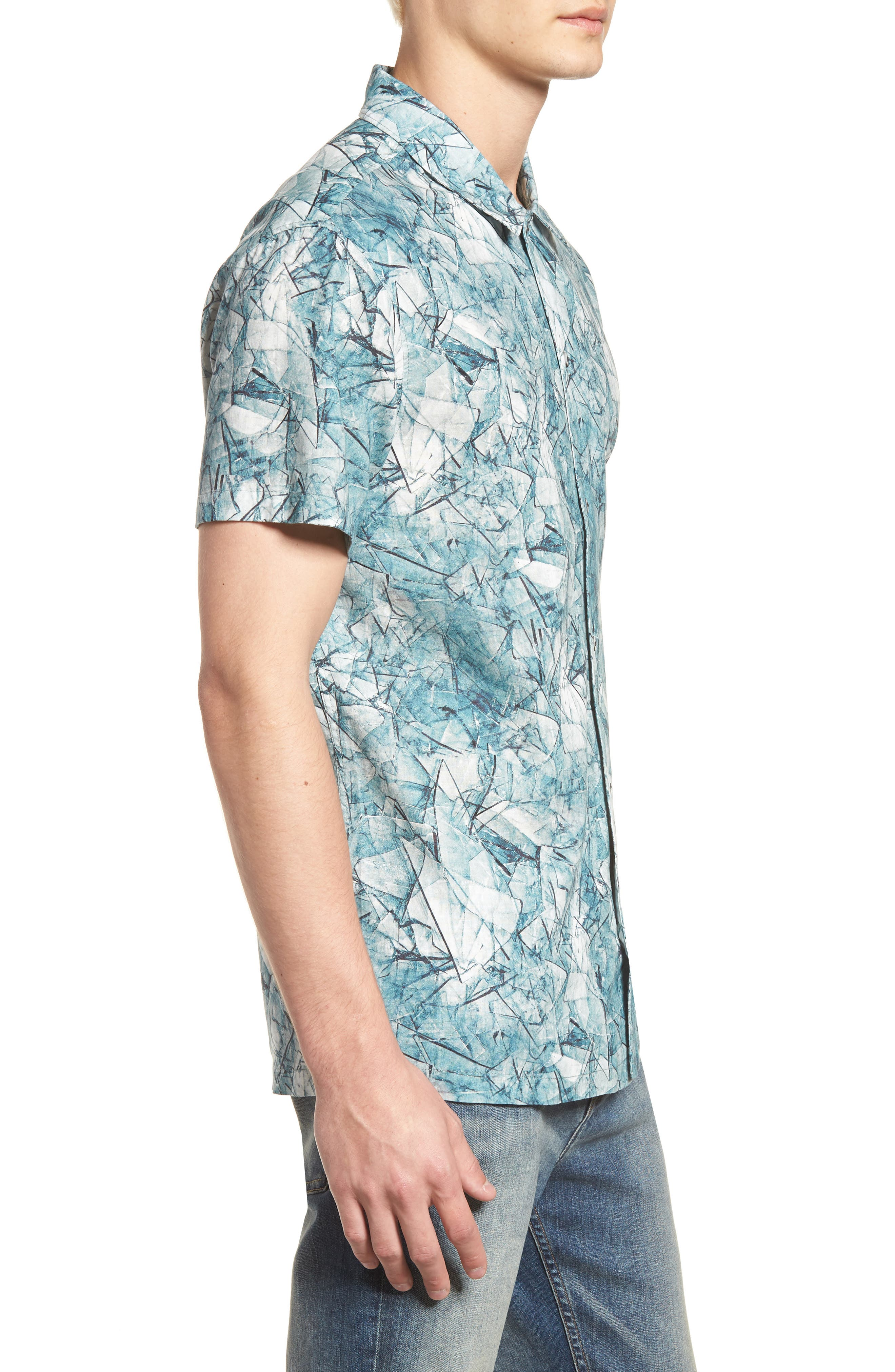 Shoto Short Sleeve Shirt,                             Alternate thumbnail 8, color,