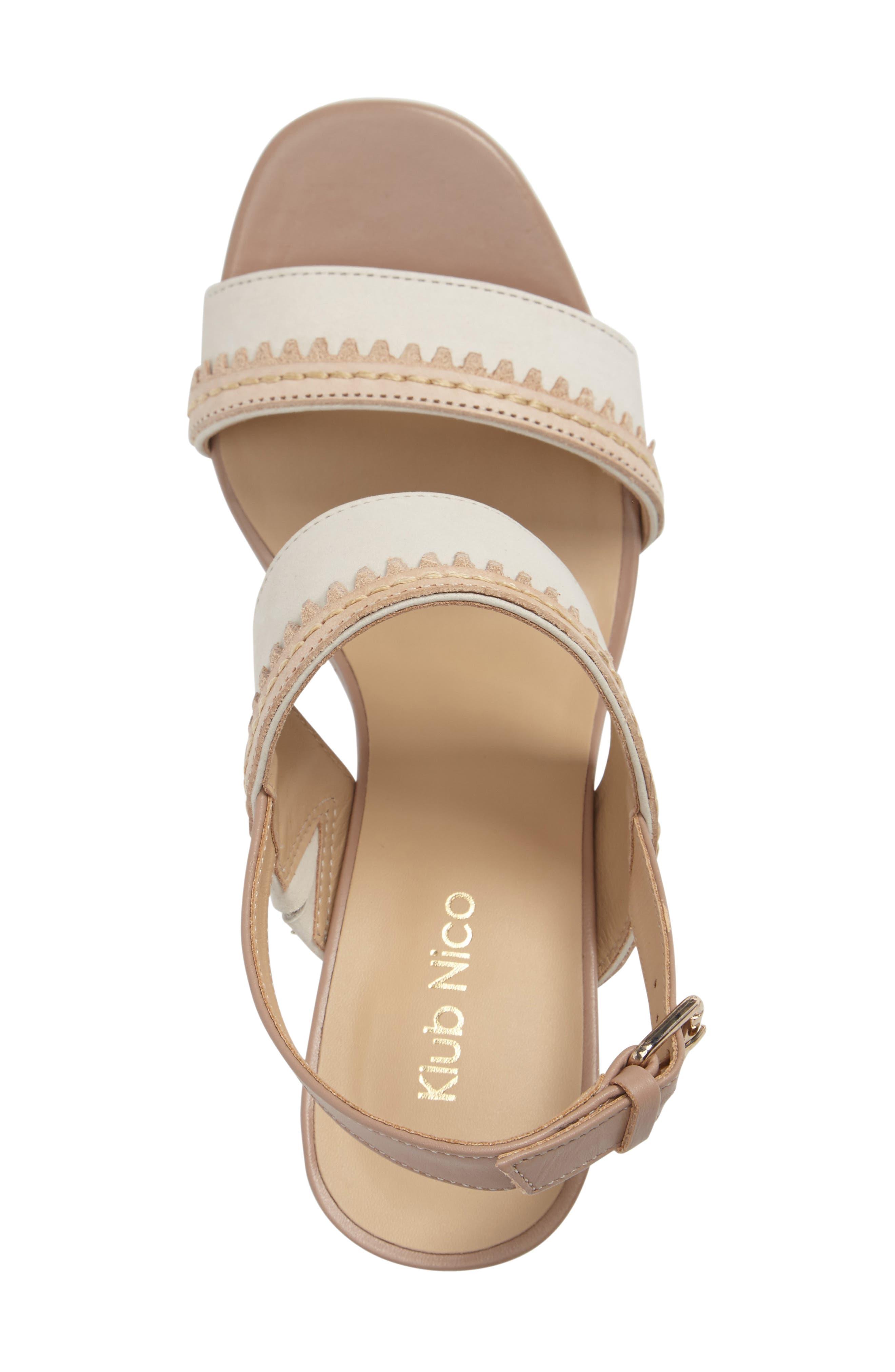 Rycca Block Heel Sandal,                             Alternate thumbnail 8, color,