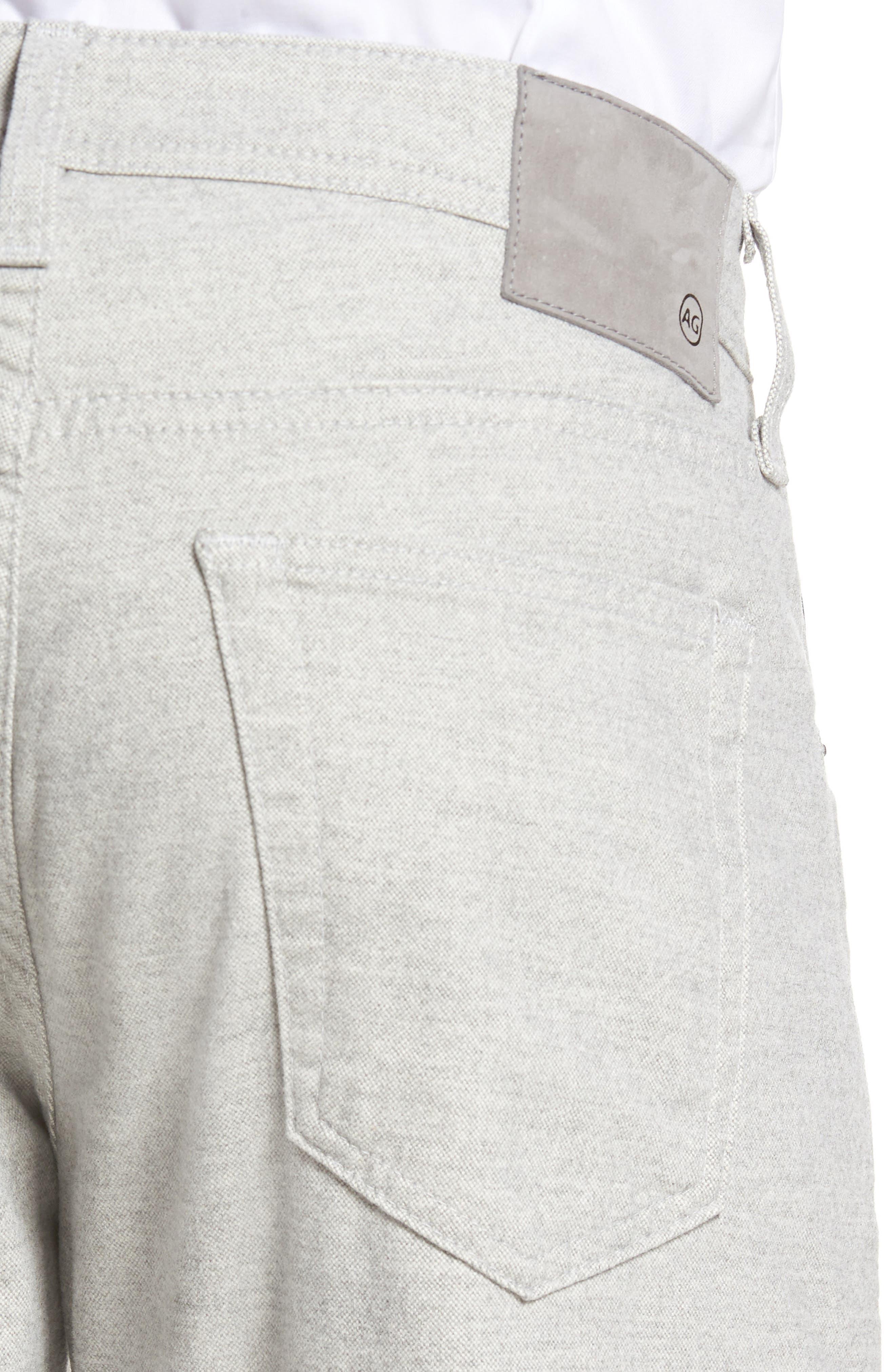 Graduate Tailored Five-Pocket Straight Leg Pants,                             Alternate thumbnail 4, color,                             020