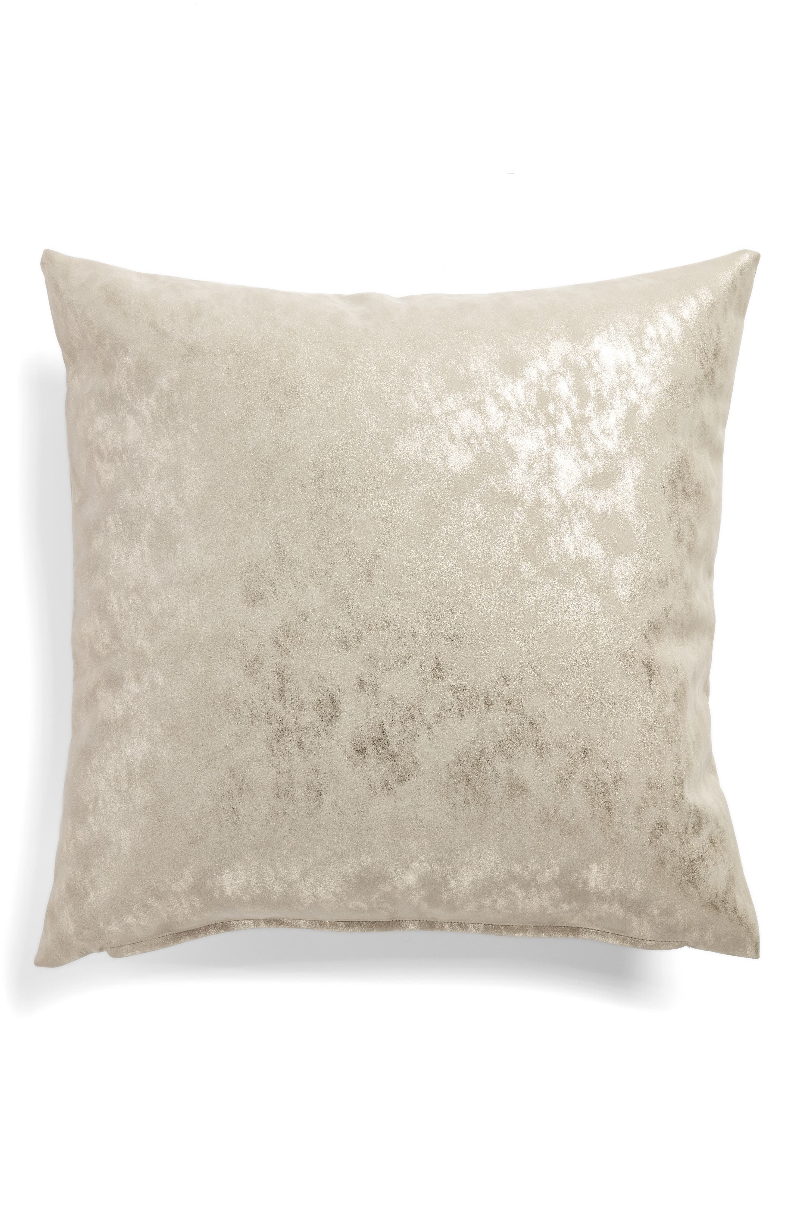 Shimmer Accent Pillow,                             Main thumbnail 1, color,                             GREY CHIME