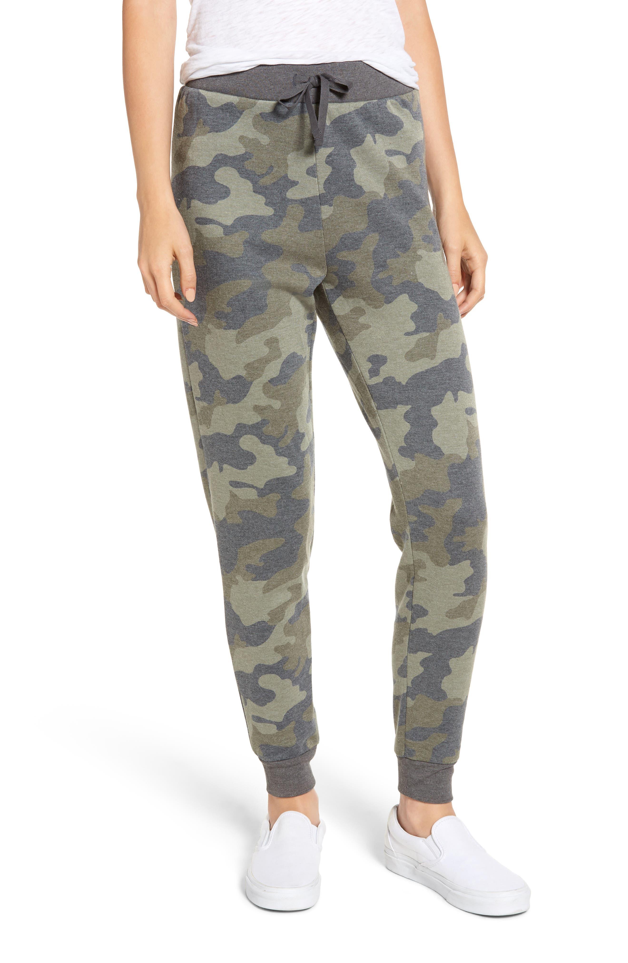 Camo Jogger Pants,                         Main,                         color, OLIVE CAMO