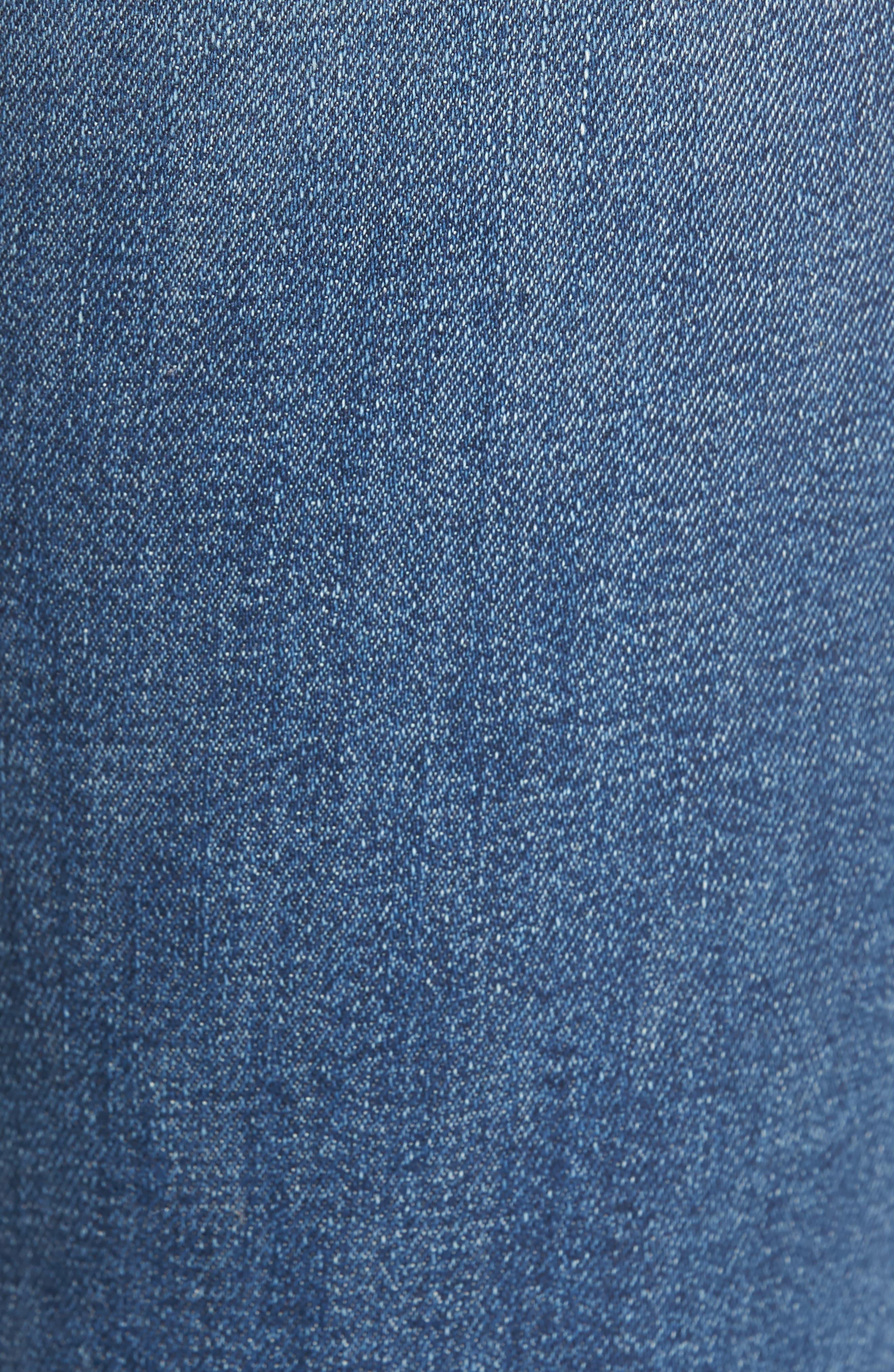 Gainsbourg High Waist Bootcut Jeans,                             Alternate thumbnail 6, color,