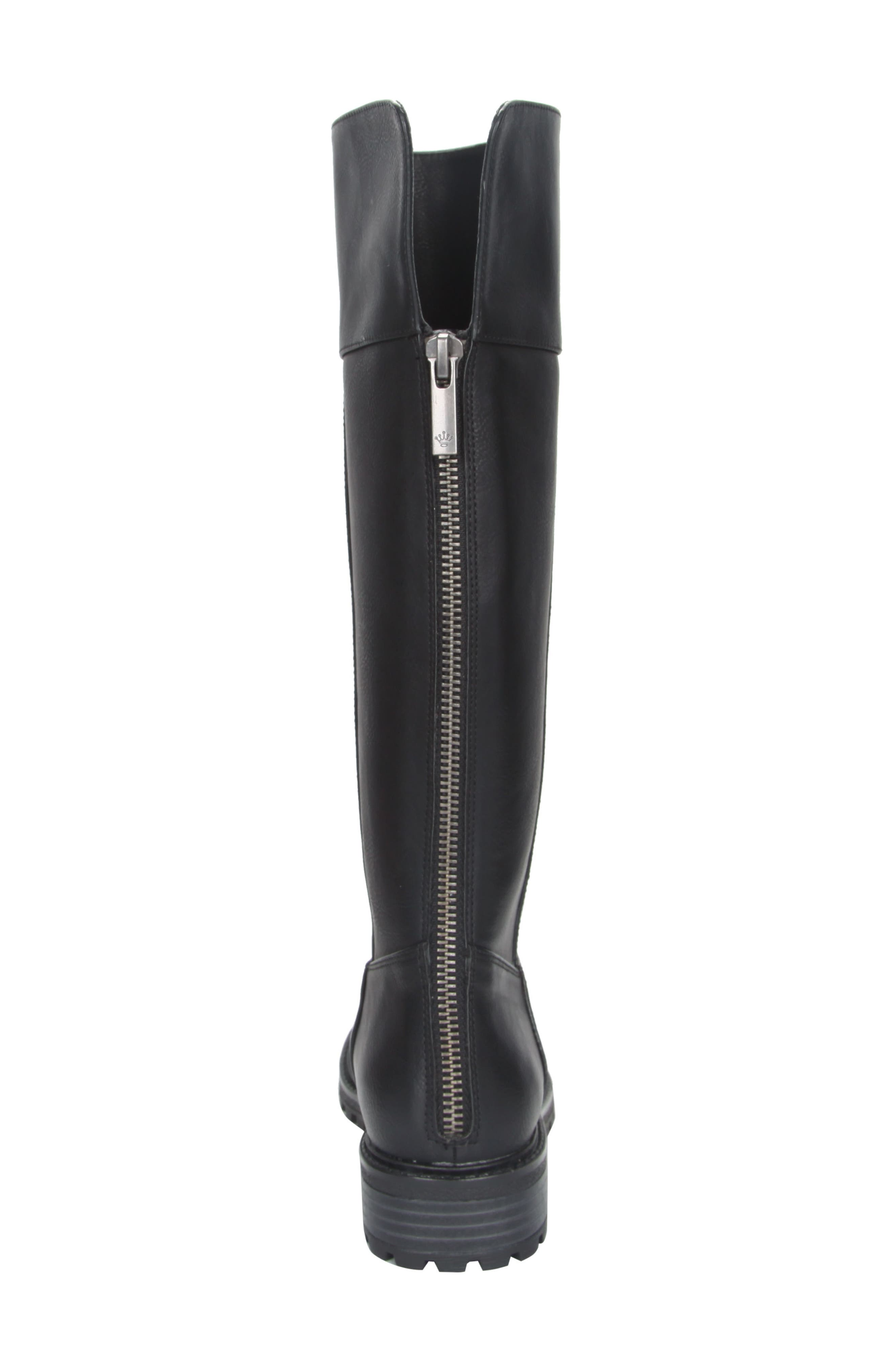 Nixie Tall Lugged Boot,                             Alternate thumbnail 11, color,