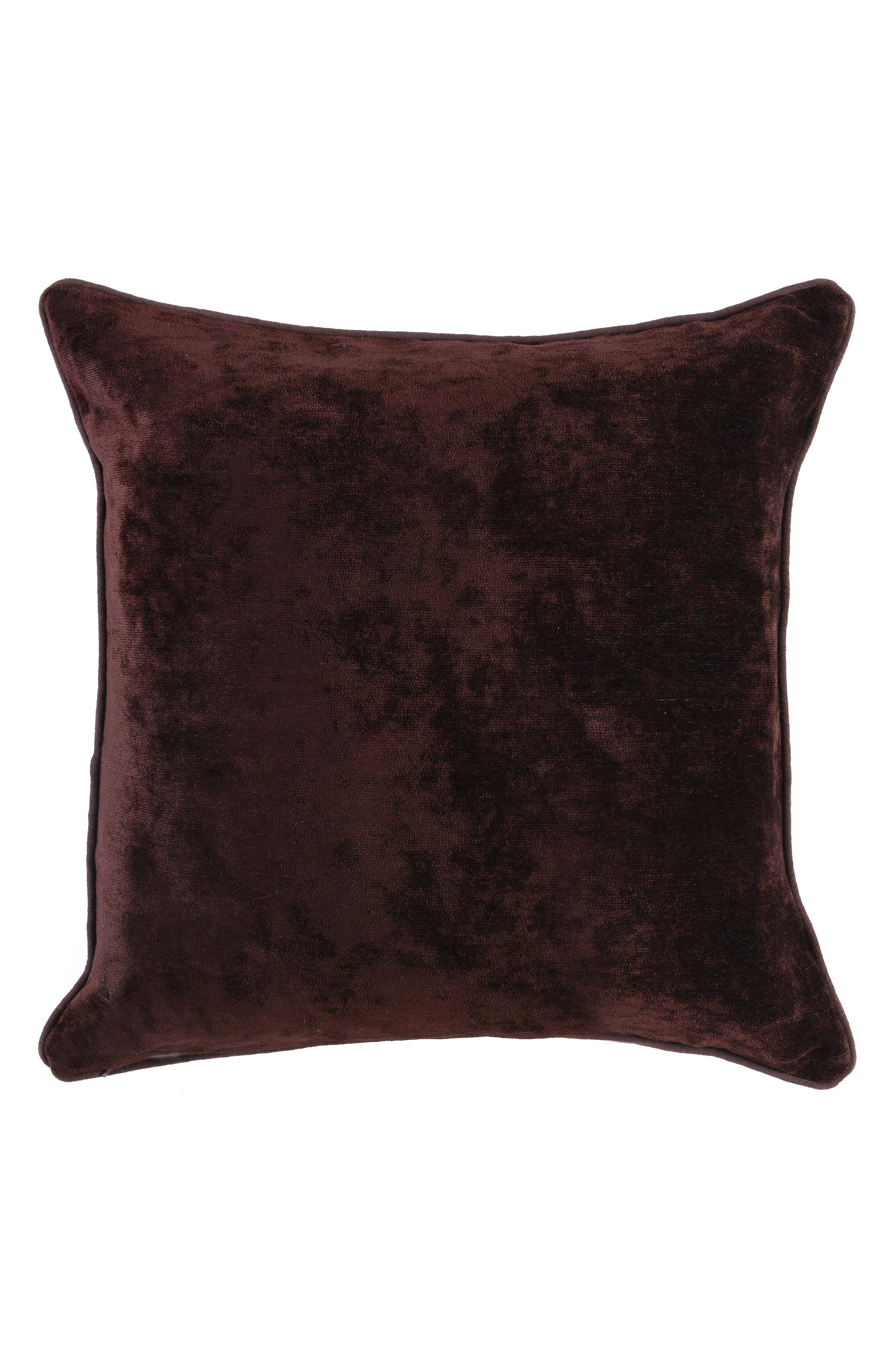 Vita Ombré Velvet Accent Pillow,                             Alternate thumbnail 2, color,                             WINE MULTI