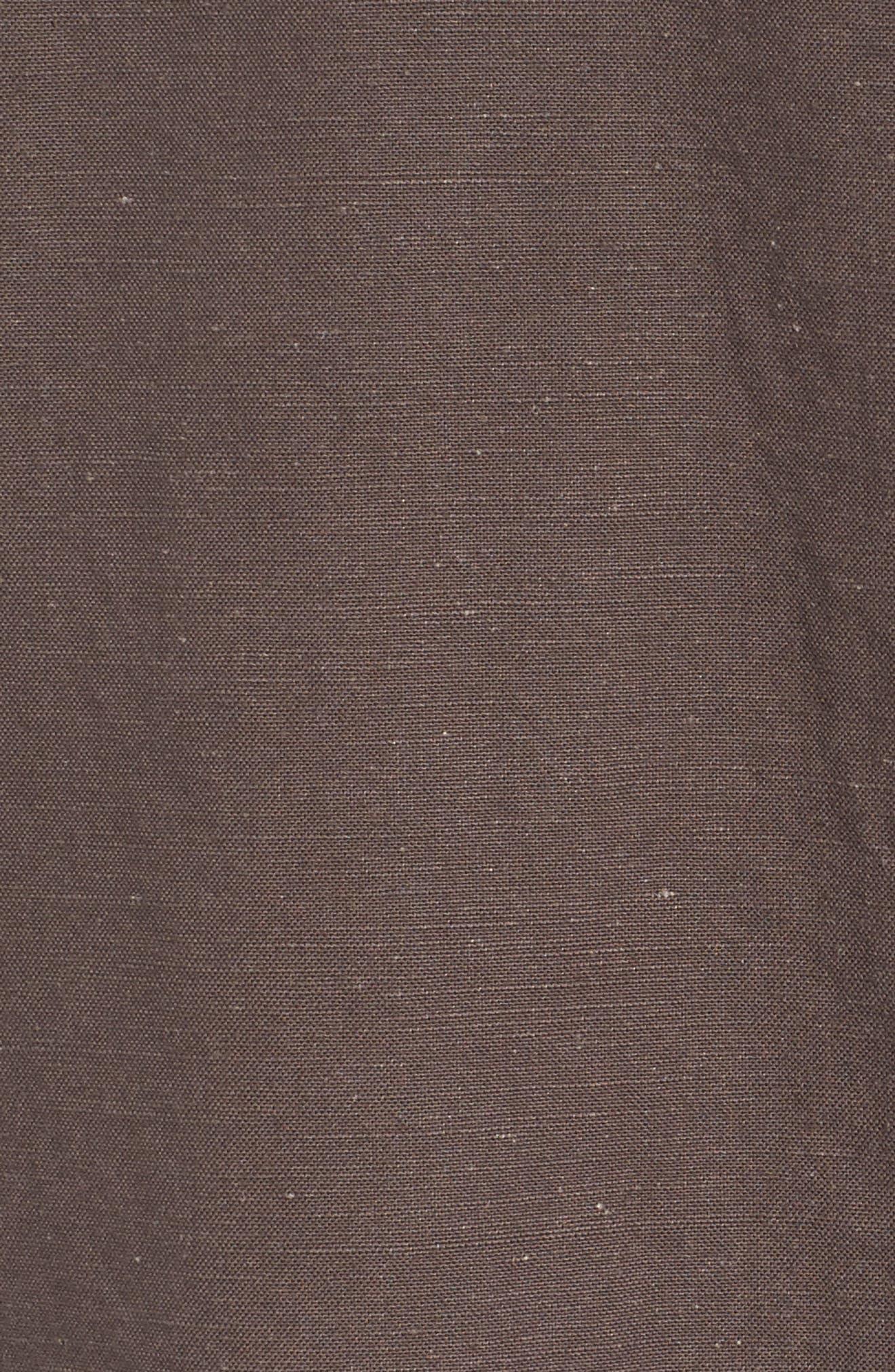 Organic Cotton & Hemp Jacket,                             Alternate thumbnail 6, color,                             024