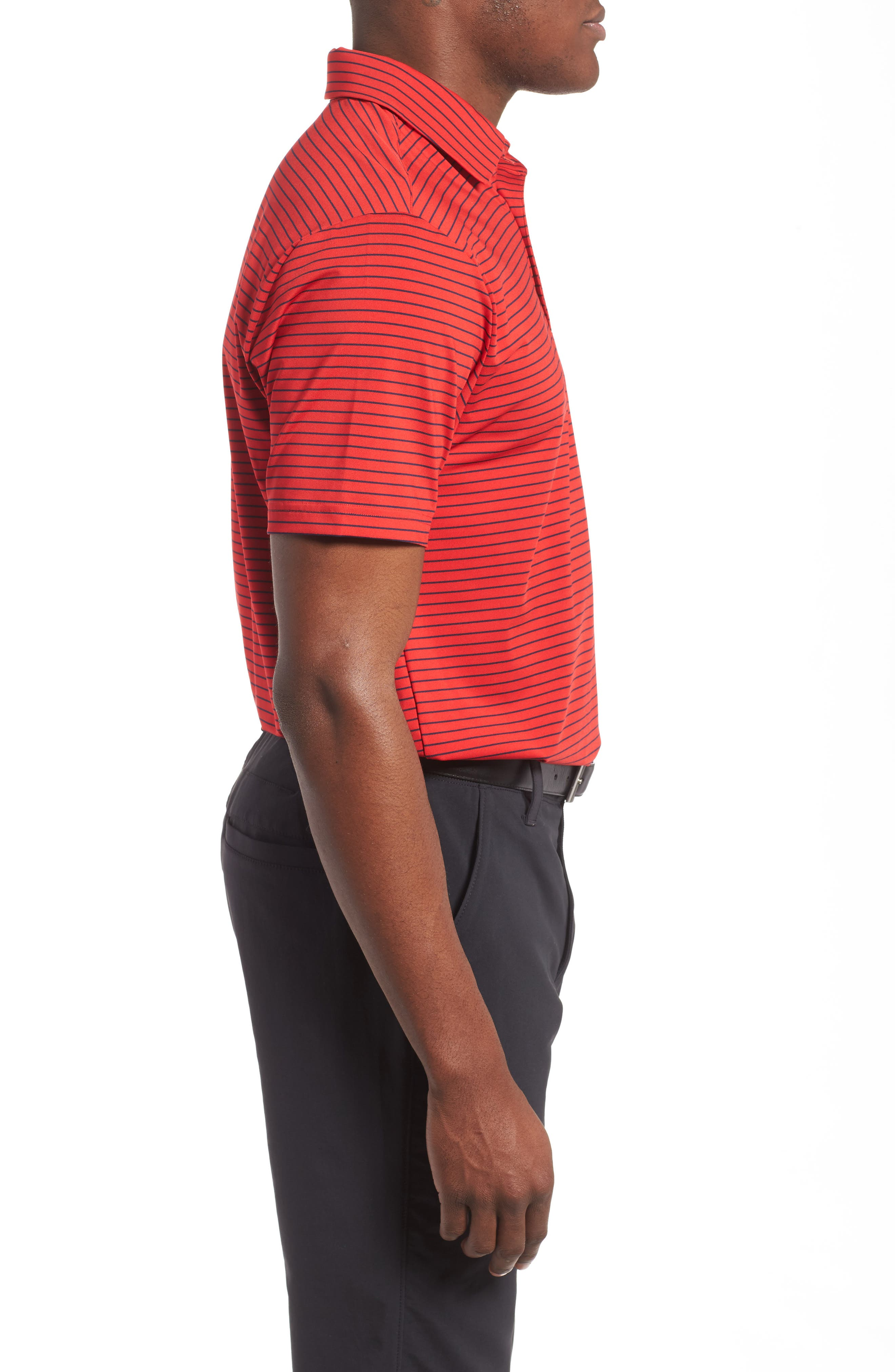 'Playoff' Loose Fit Short Sleeve Polo,                             Alternate thumbnail 165, color,