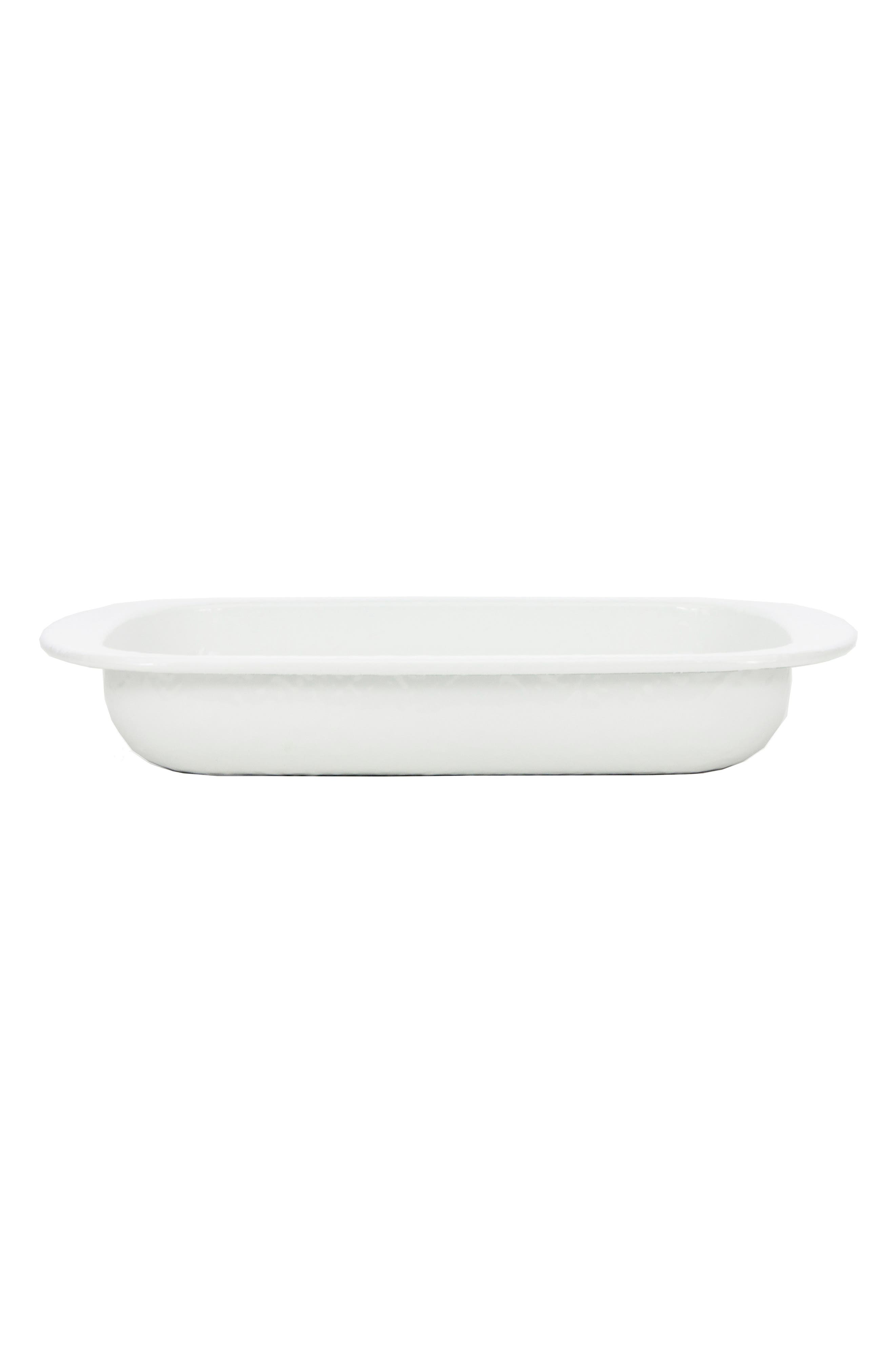 Baking Pan,                         Main,                         color, SOLID WHITE