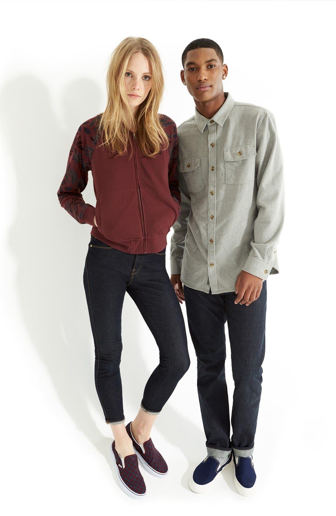 'Amazing' Flannel Shirt,                             Alternate thumbnail 3, color,                             050