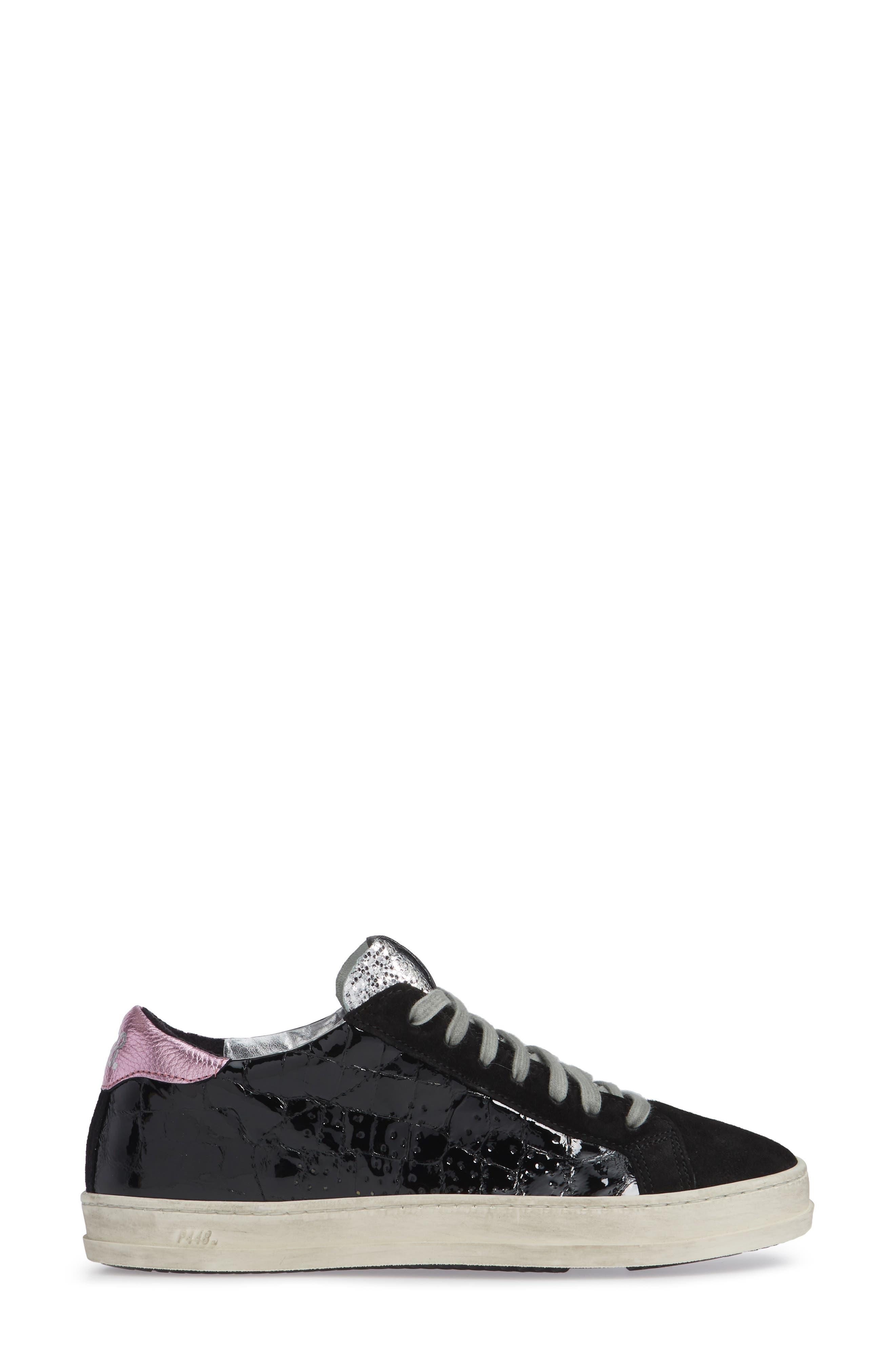 John Sneaker,                             Alternate thumbnail 3, color,                             VYNIL BLACK