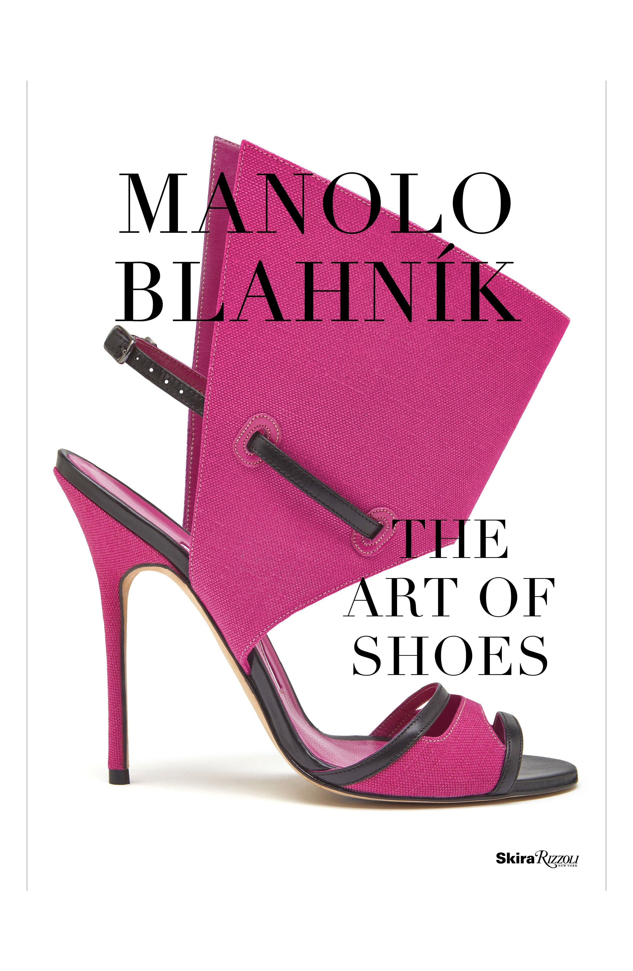 Manolo Blahnik: The Art of Shoes Book,                             Main thumbnail 1, color,