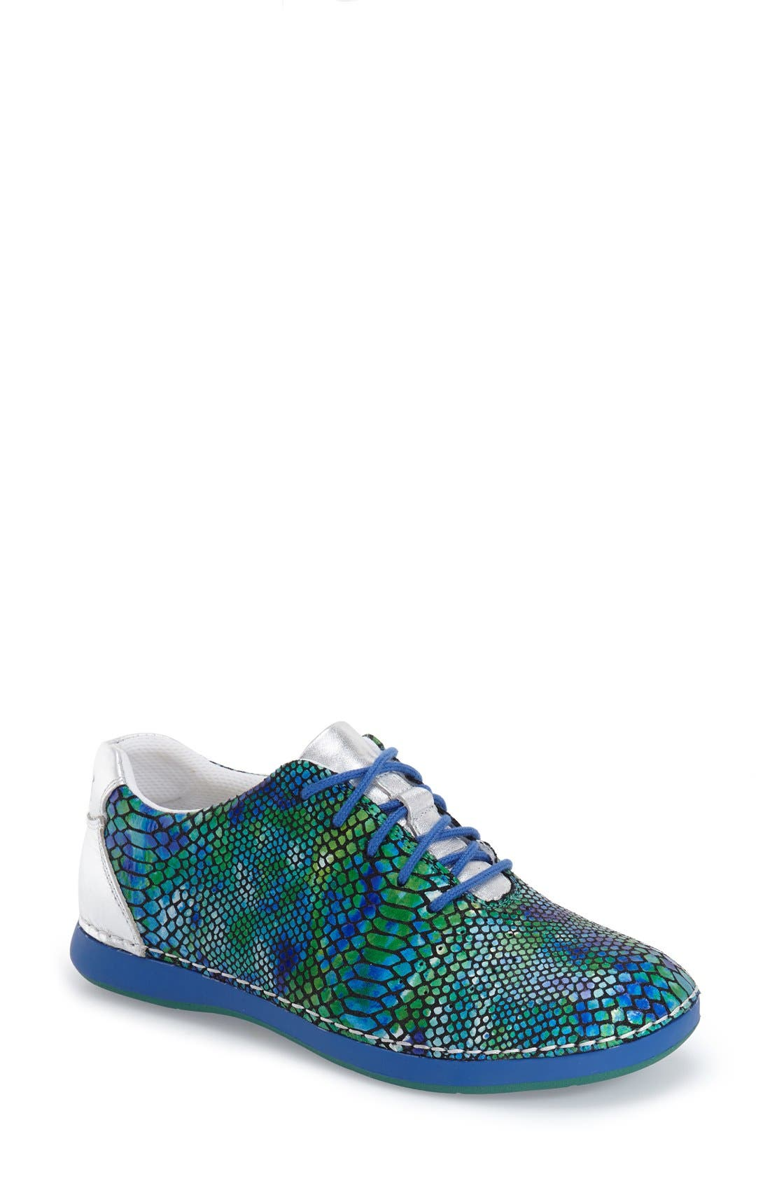 Essence Lace-Up Leather Oxford,                             Main thumbnail 23, color,