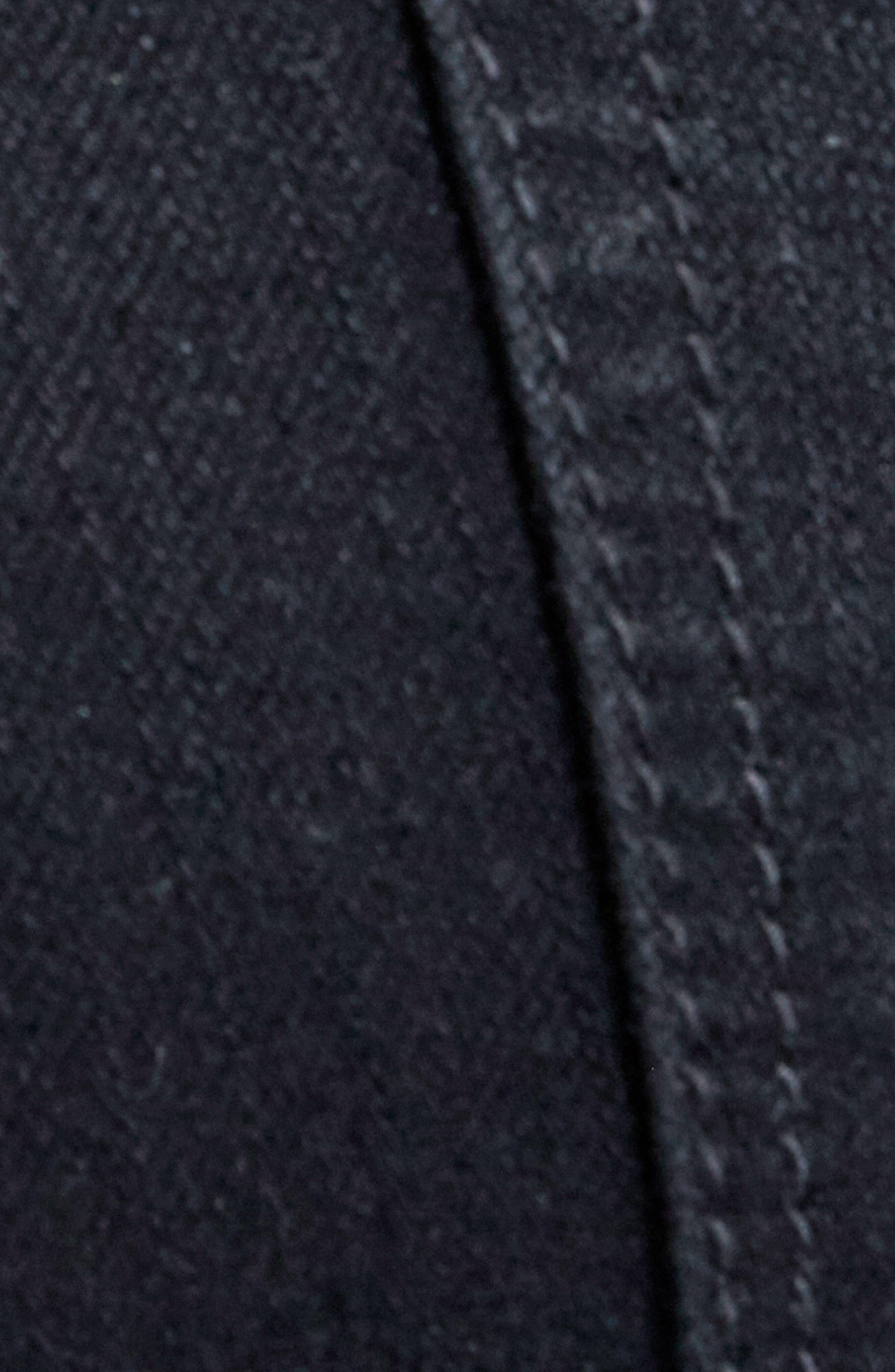 Jayden Stagger Hem Skinny Jeans,                             Alternate thumbnail 5, color,                             001