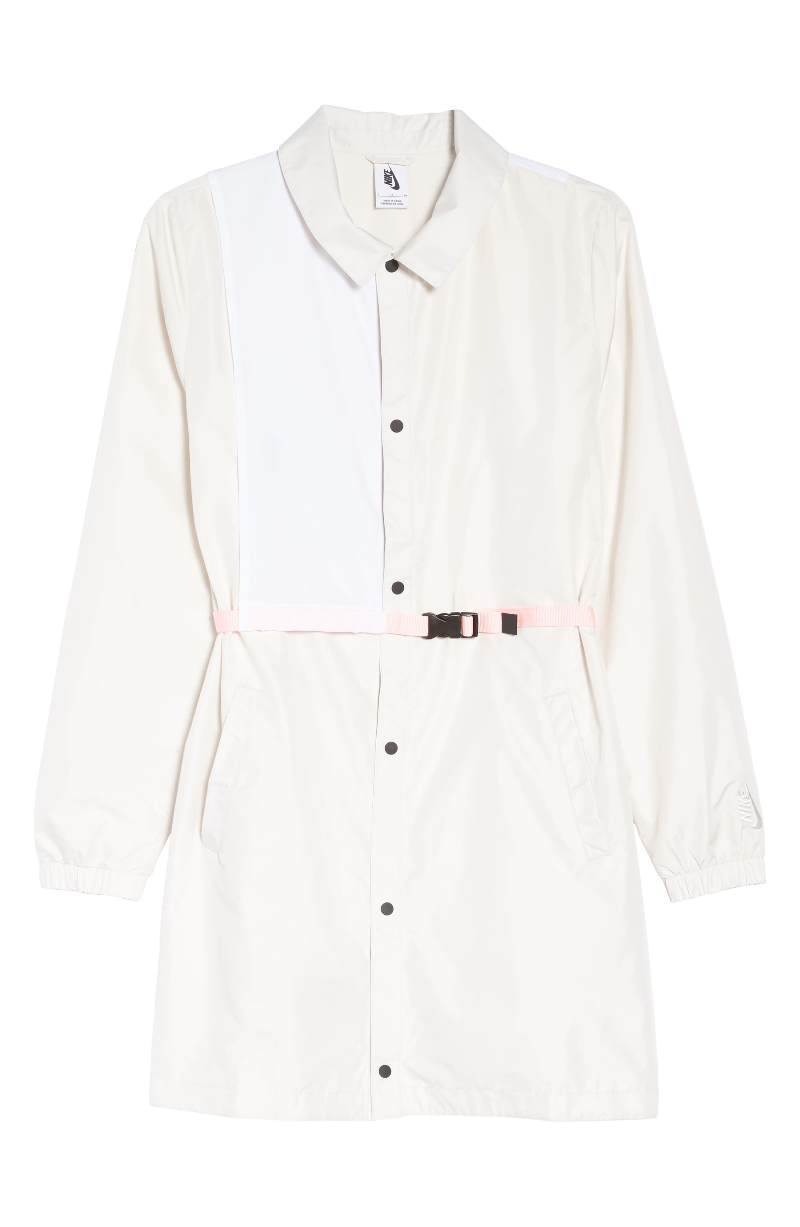 Hybrid Coaches Jacket/Dress,                             Alternate thumbnail 7, color,                             PHANTOM/ WHITE/ ARCTIC PUNCH