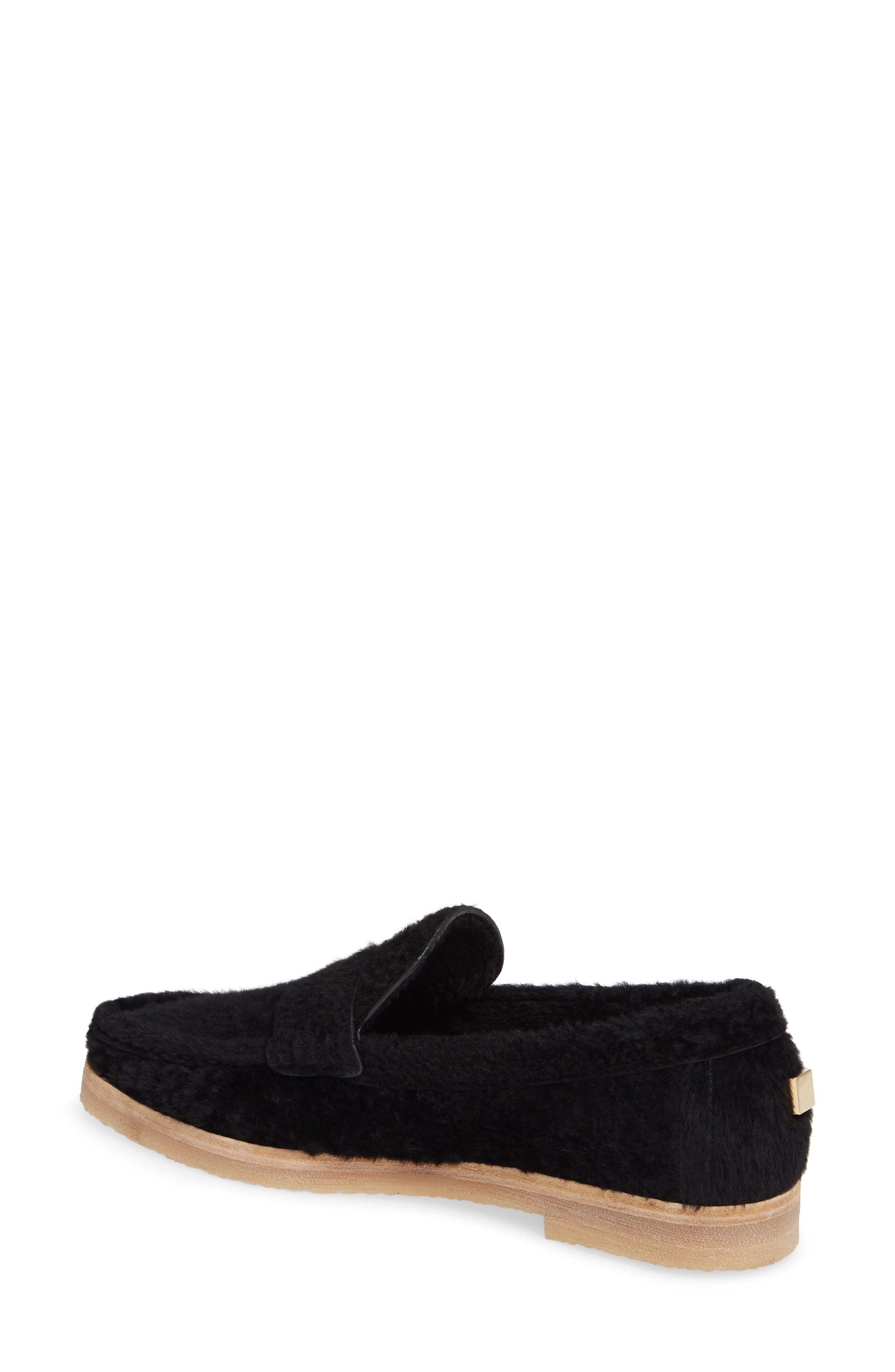 Bromley Genuine Shearling Loafer,                             Alternate thumbnail 5, color,