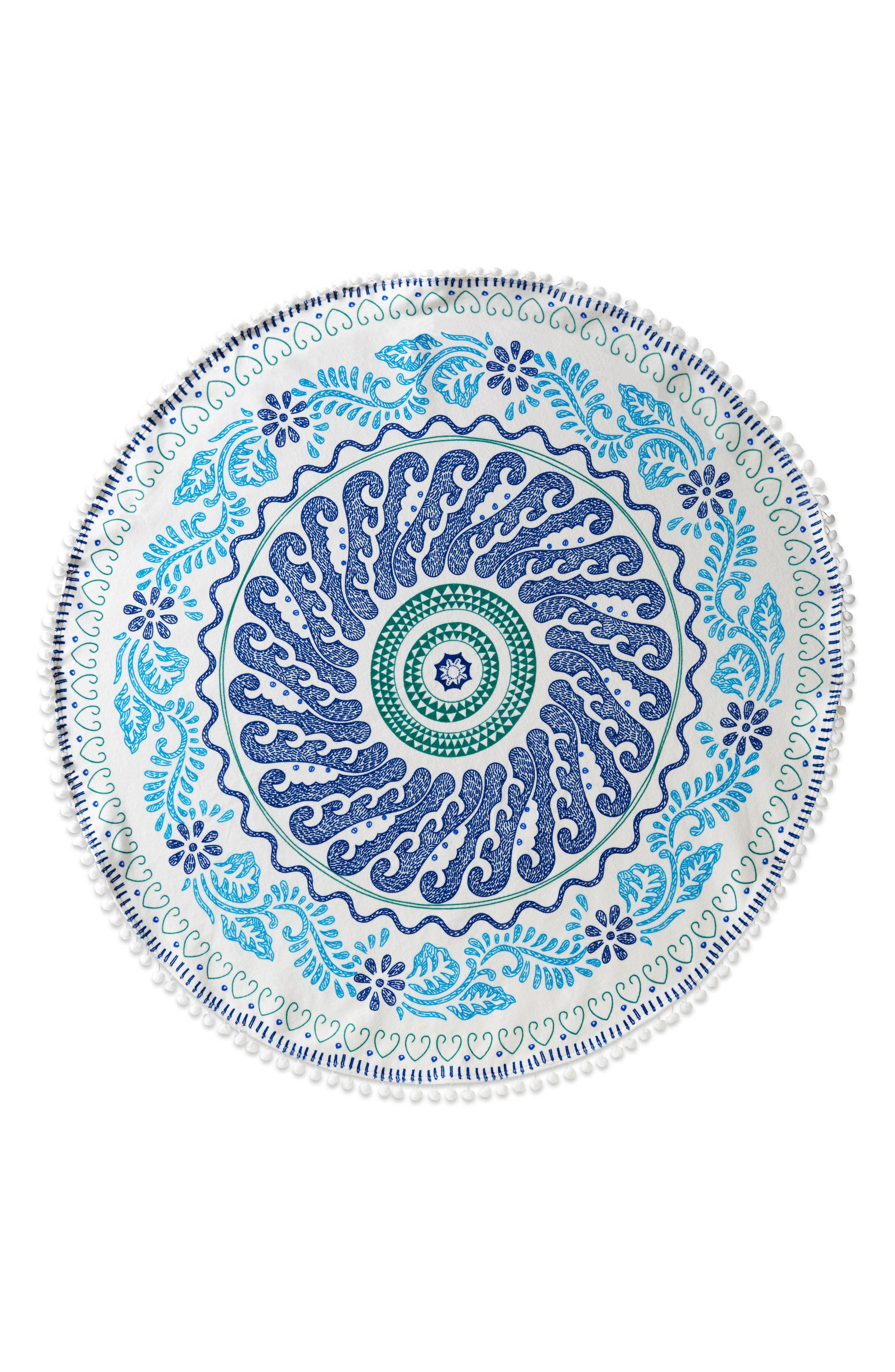 Cita Round Resort Towel,                         Main,                         color, 400