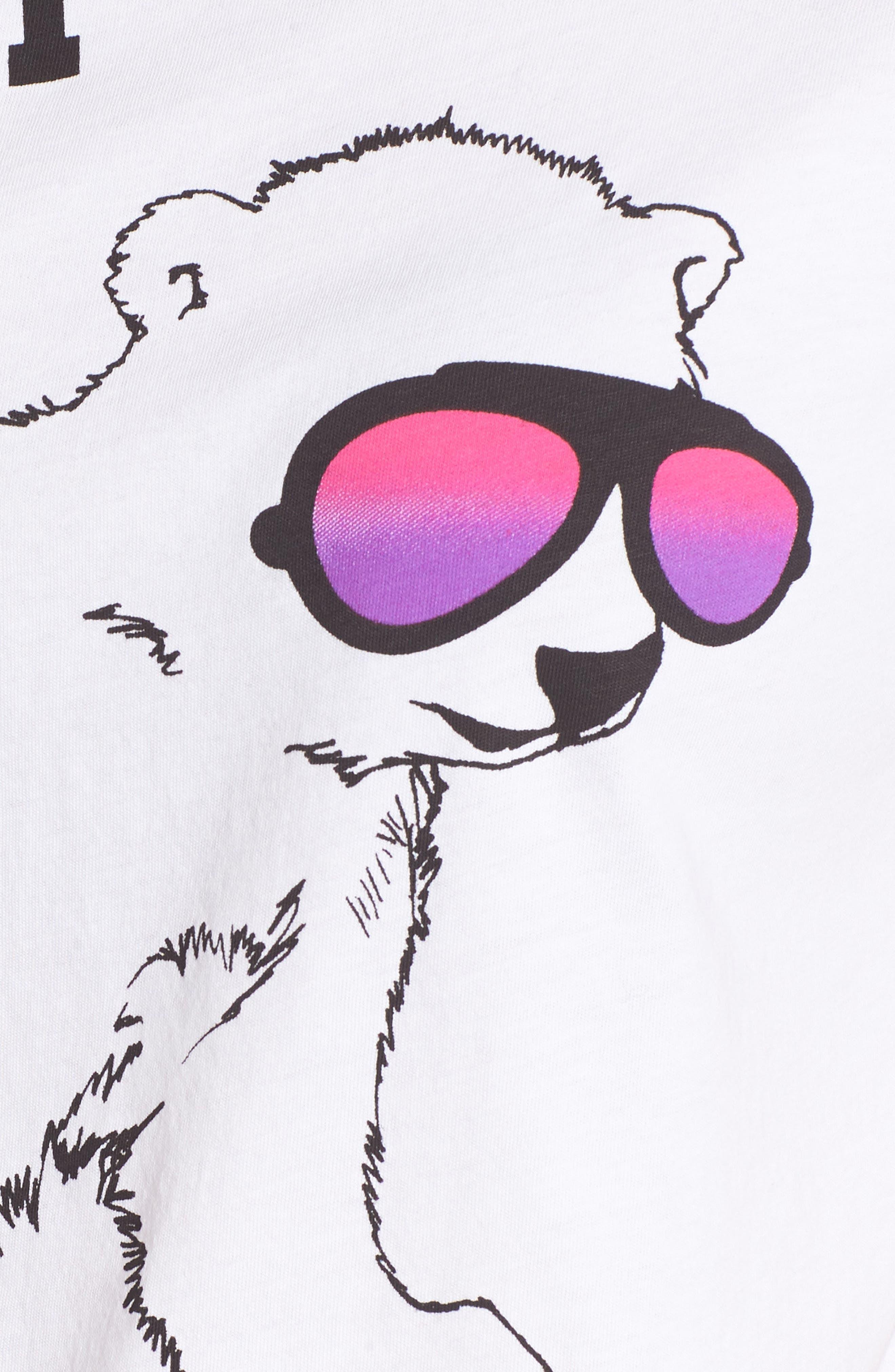 Stay Cool Polar Bear Tee,                             Alternate thumbnail 5, color,
