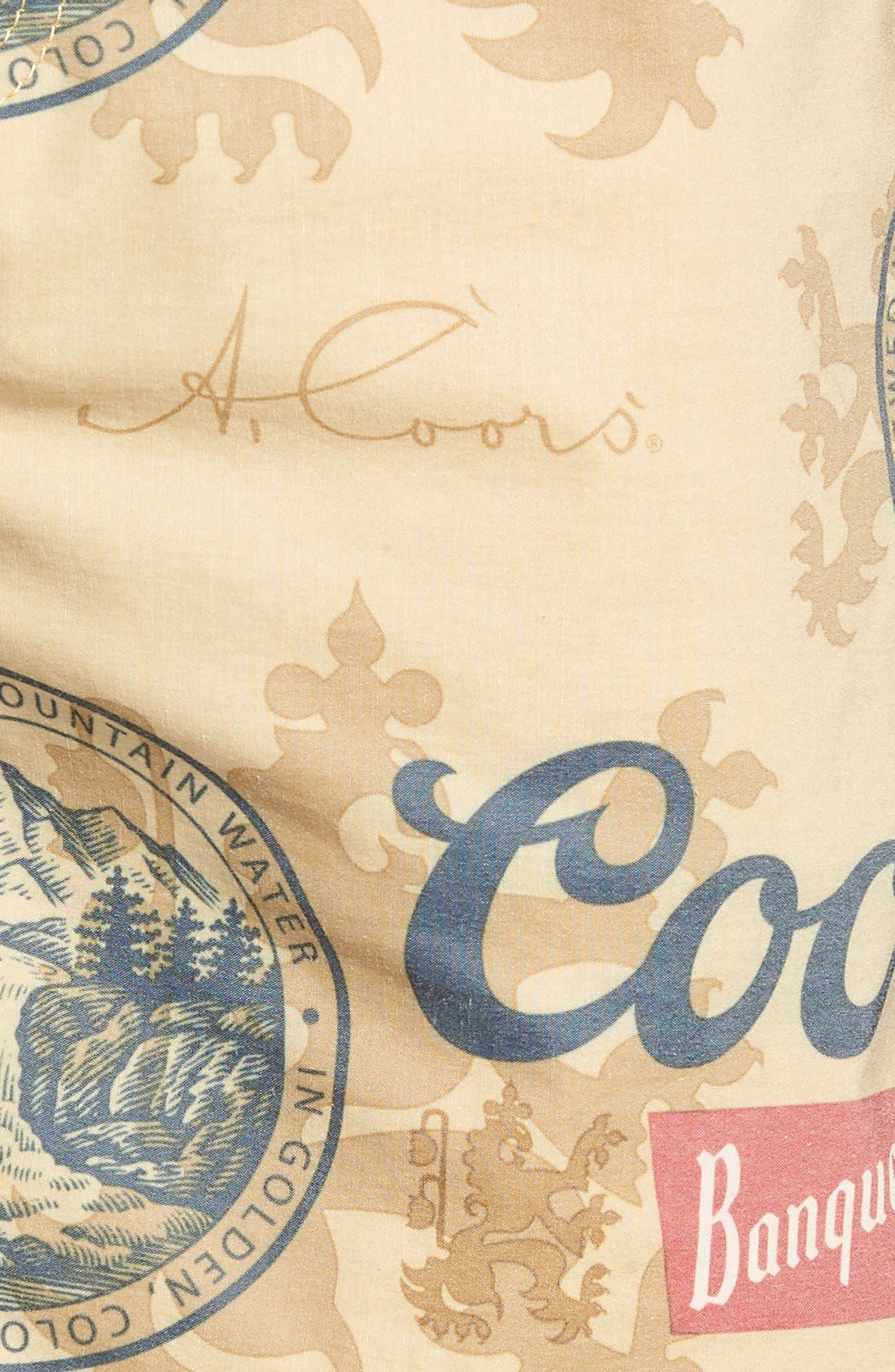 Havana Coors Logo Swim Trunks,                             Alternate thumbnail 5, color,                             700