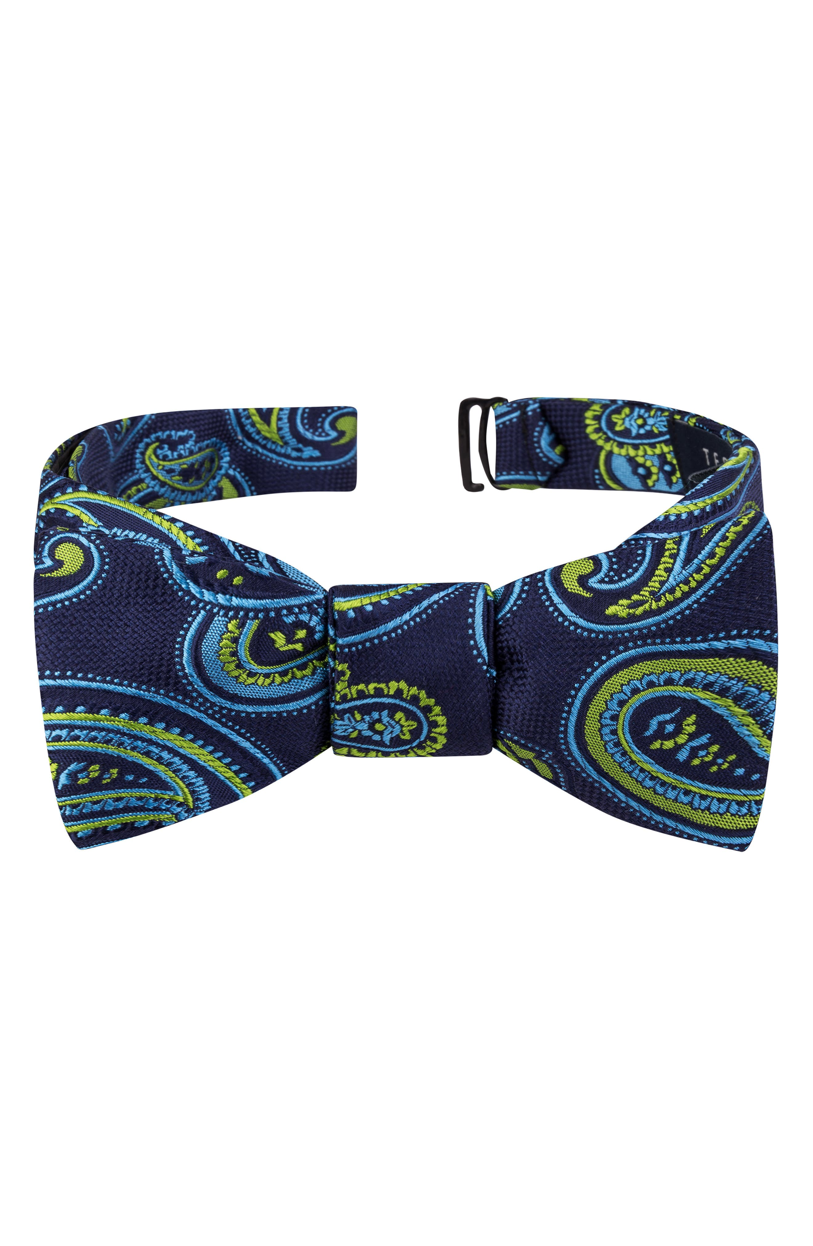 Edwardian Men's Fashion & Clothing Mens Ted Baker London Twin Pine Silk Bow Tie $59.50 AT vintagedancer.com