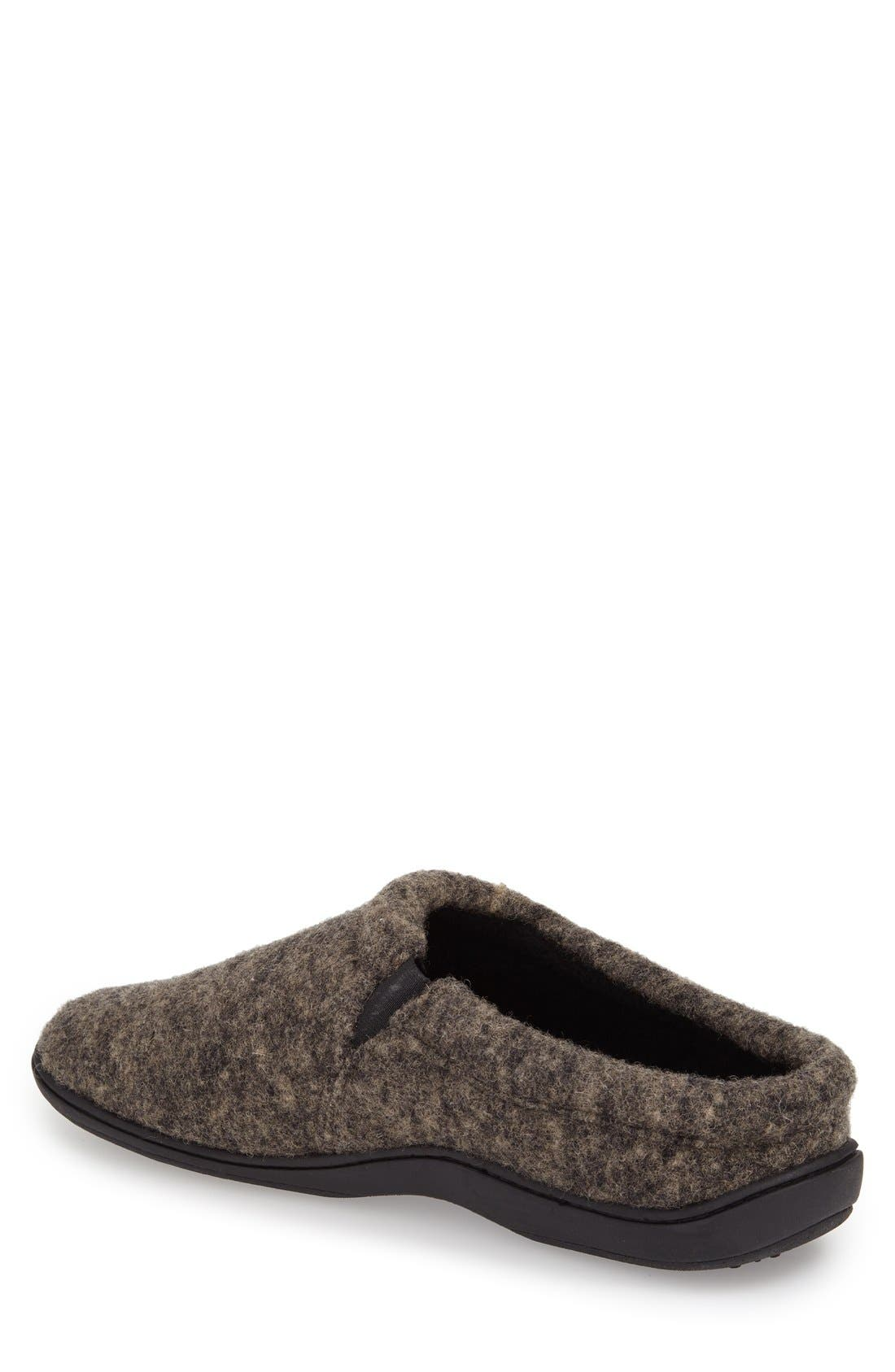 'Digby' Slipper,                             Alternate thumbnail 2, color,                             HEATHER GREIGE