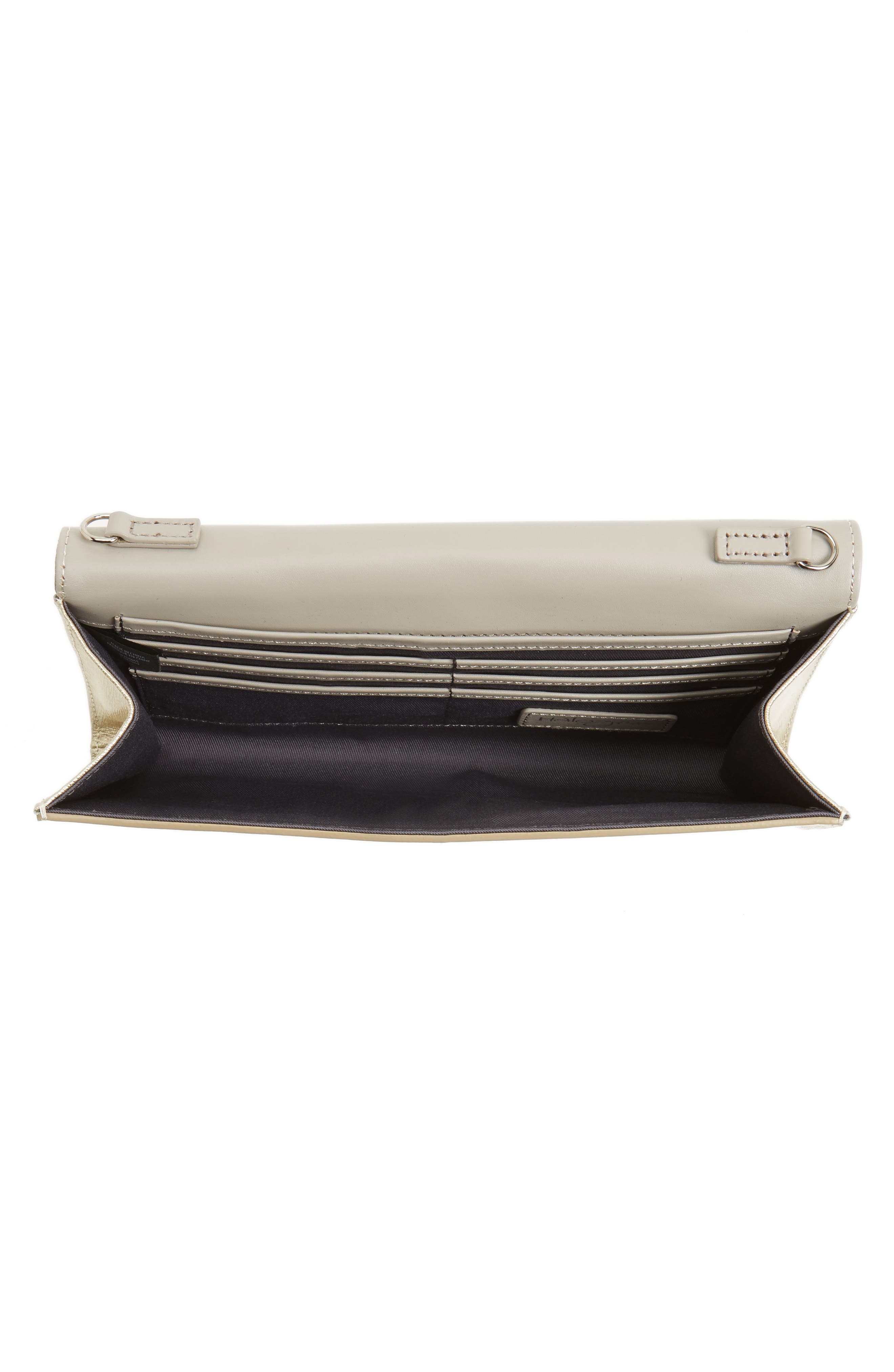 Leather Clutch,                             Alternate thumbnail 21, color,