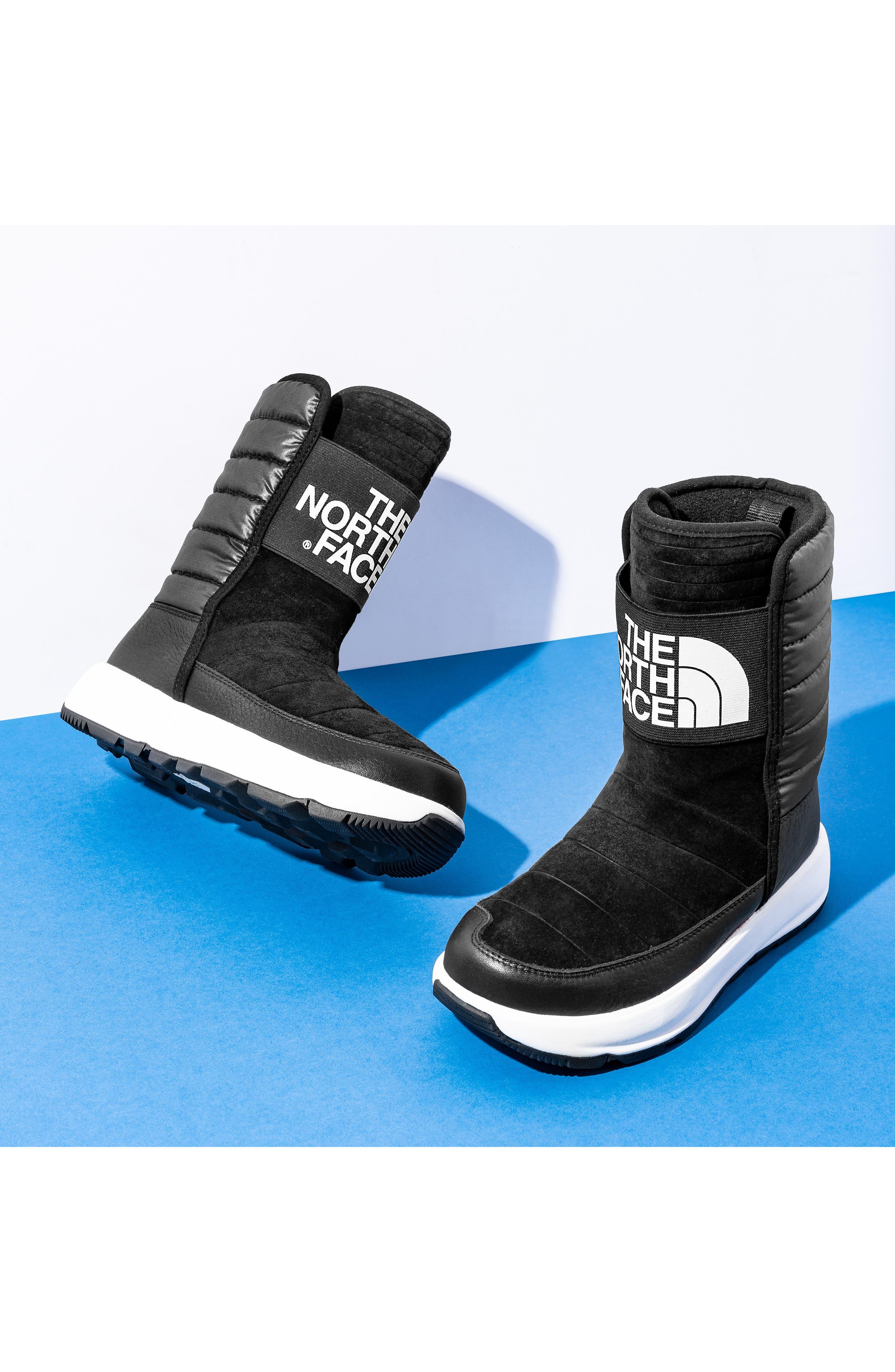 Yukiona Waterproof Winter Boot,                             Alternate thumbnail 7, color,                             BLACK/ BLACK