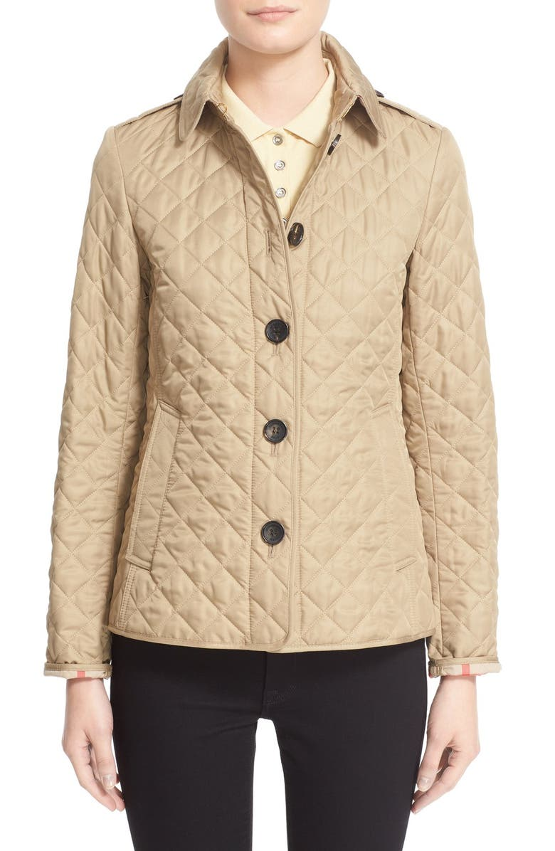 Ashurst Quilted Jacket,                         Main,                         color, CANVAS