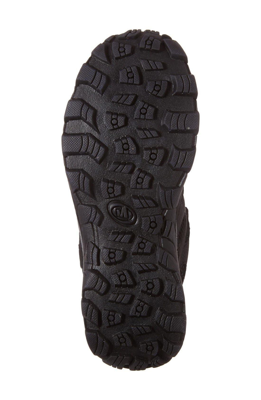 'Hilltop' Waterproof Sneaker,                             Alternate thumbnail 4, color,                             001