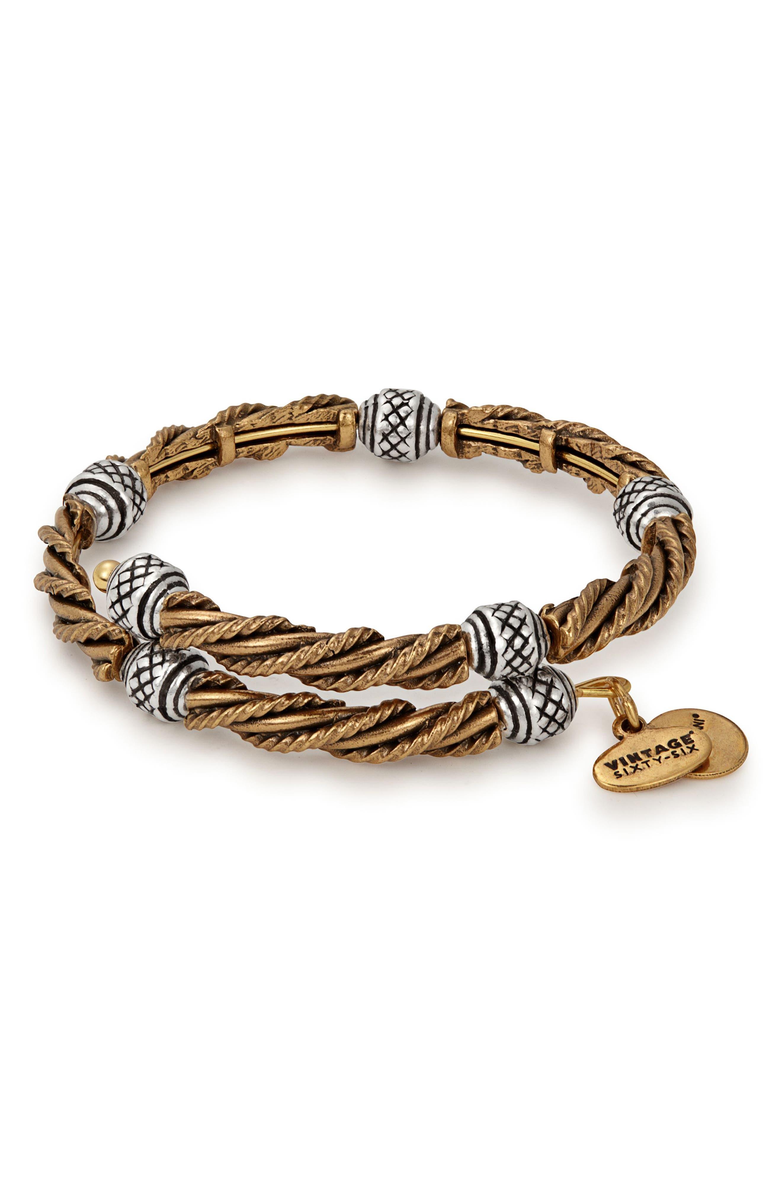 Relic Beaded Wrap Bracelet,                             Main thumbnail 1, color,                             710