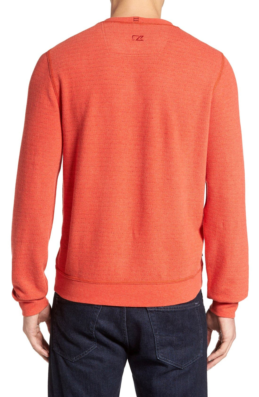 'Gleann' French Terry Crewneck Sweatshirt,                             Alternate thumbnail 4, color,
