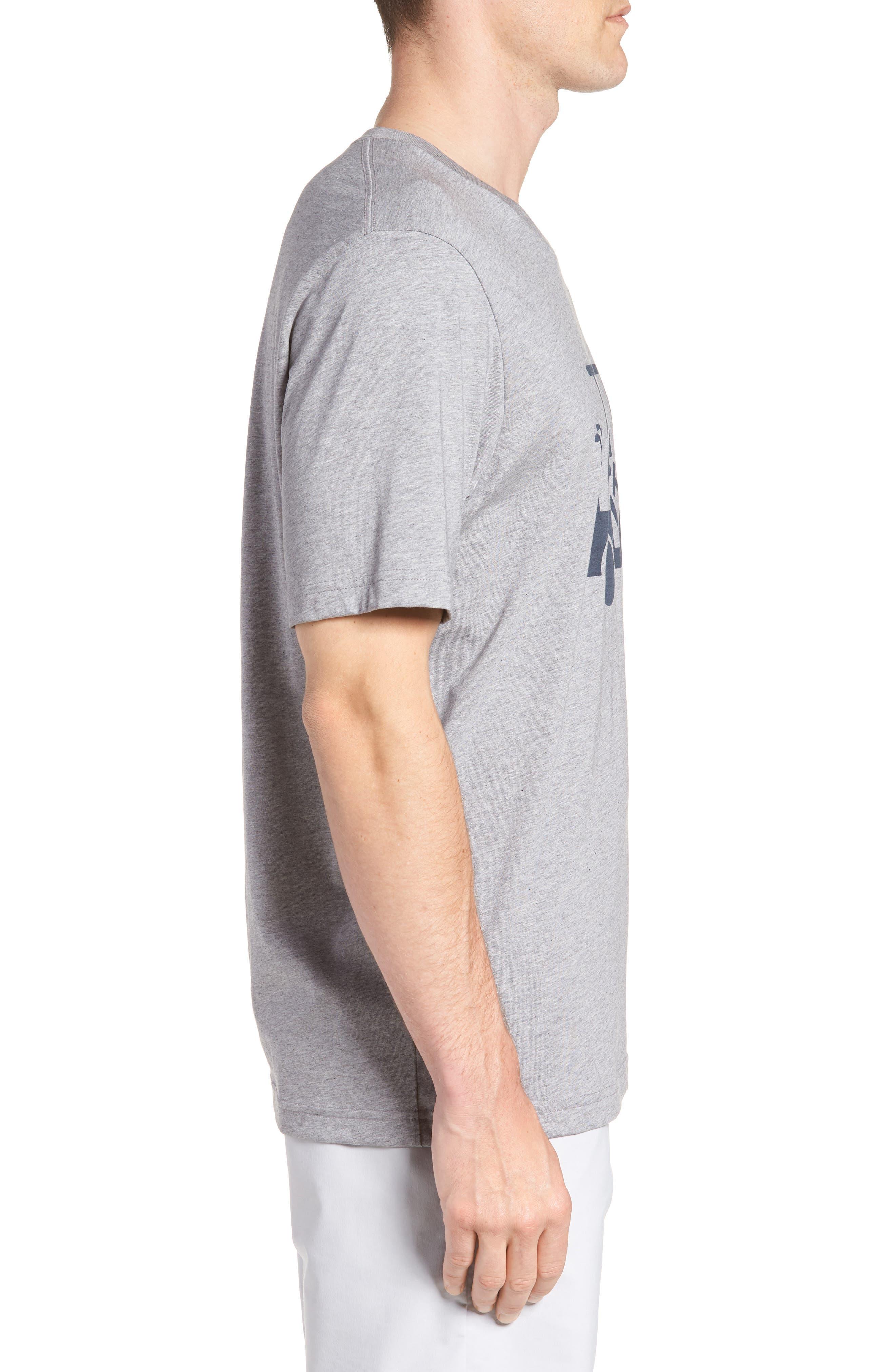 'Mapes' Graphic Pima Cotton T-Shirt,                             Alternate thumbnail 3, color,                             020
