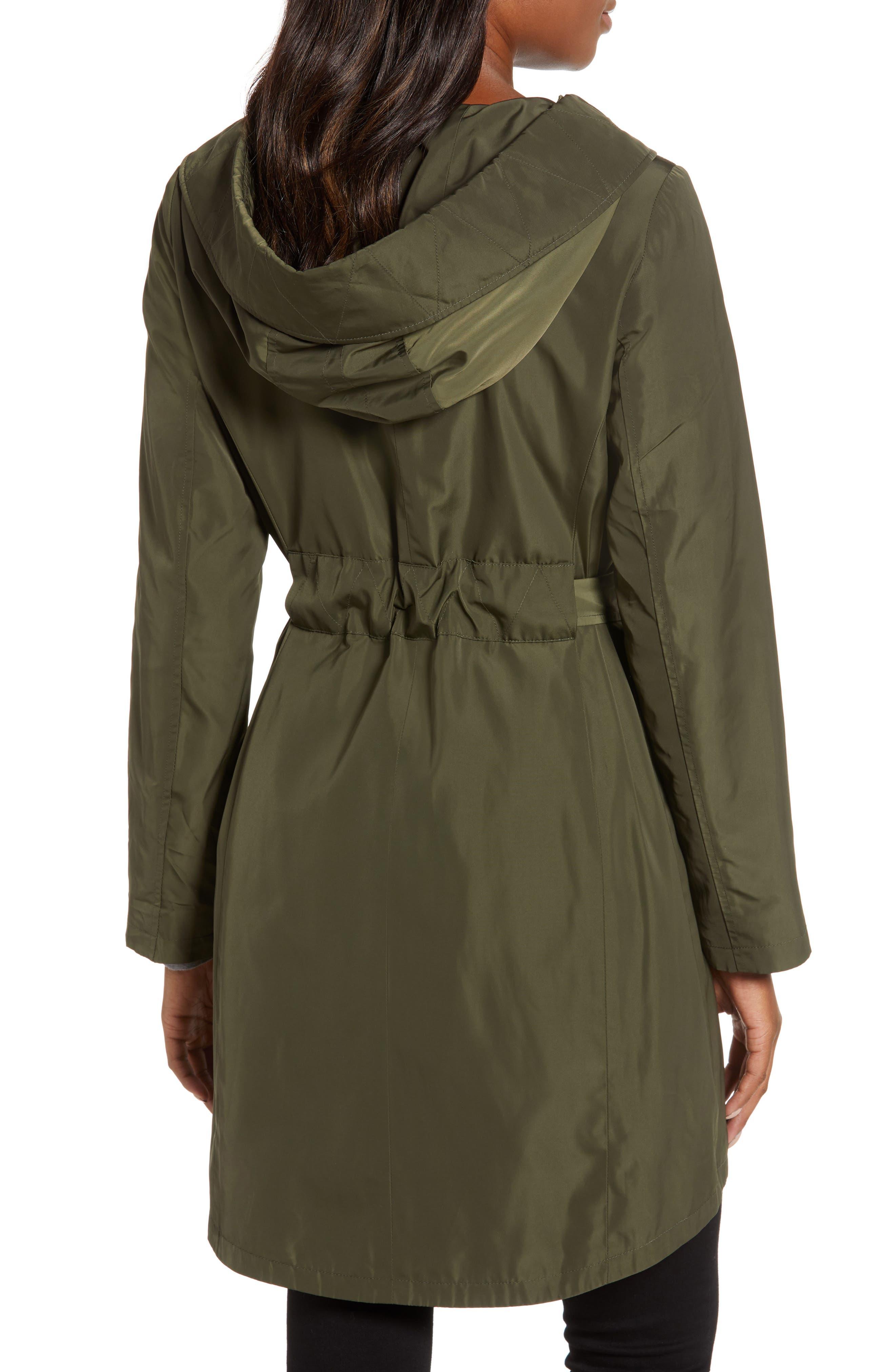 Hooded Coat,                             Alternate thumbnail 2, color,                             LODEN