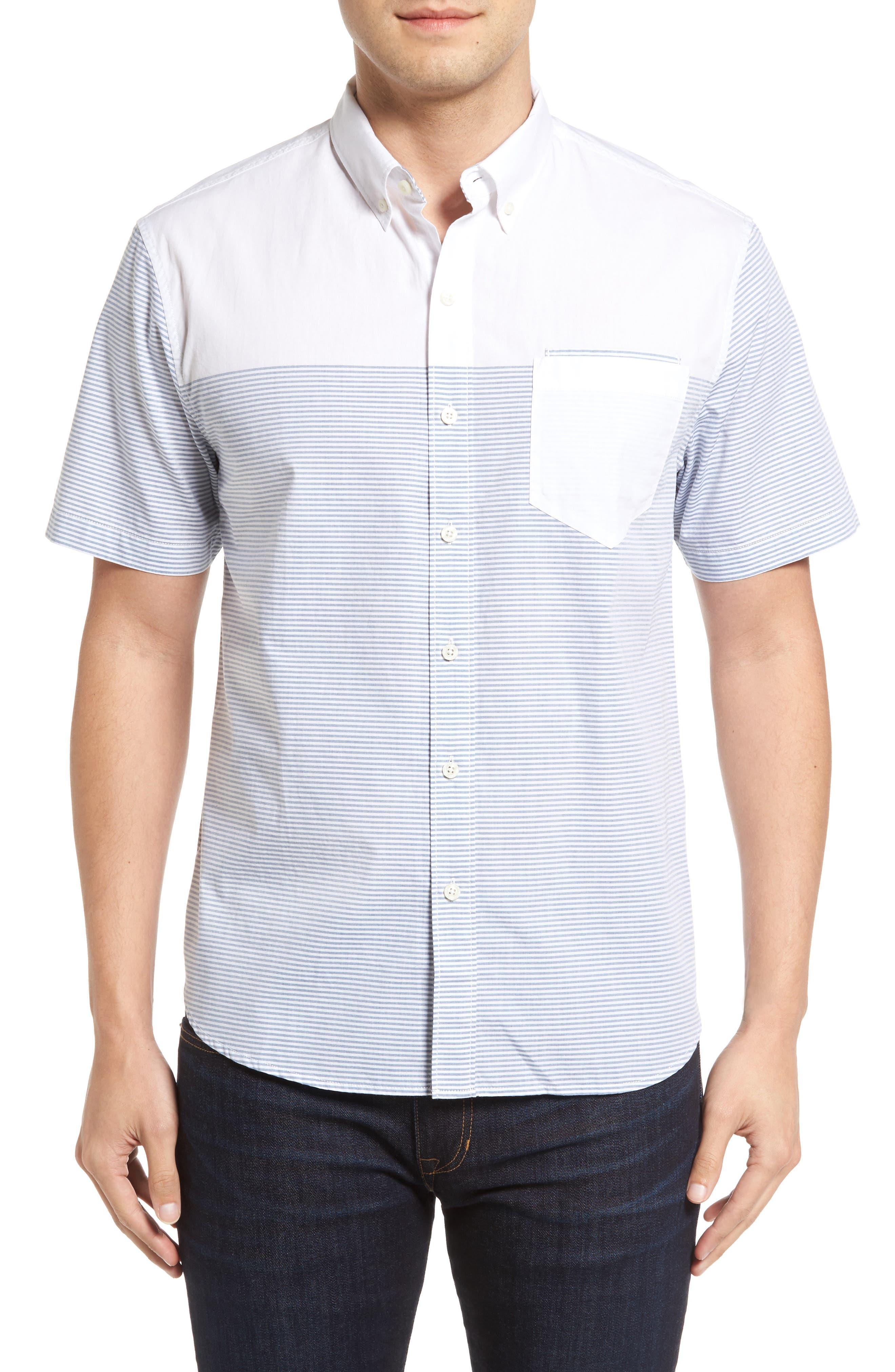 The Yachtsman Standard Fit Cotton Sport Shirt,                             Main thumbnail 1, color,                             100