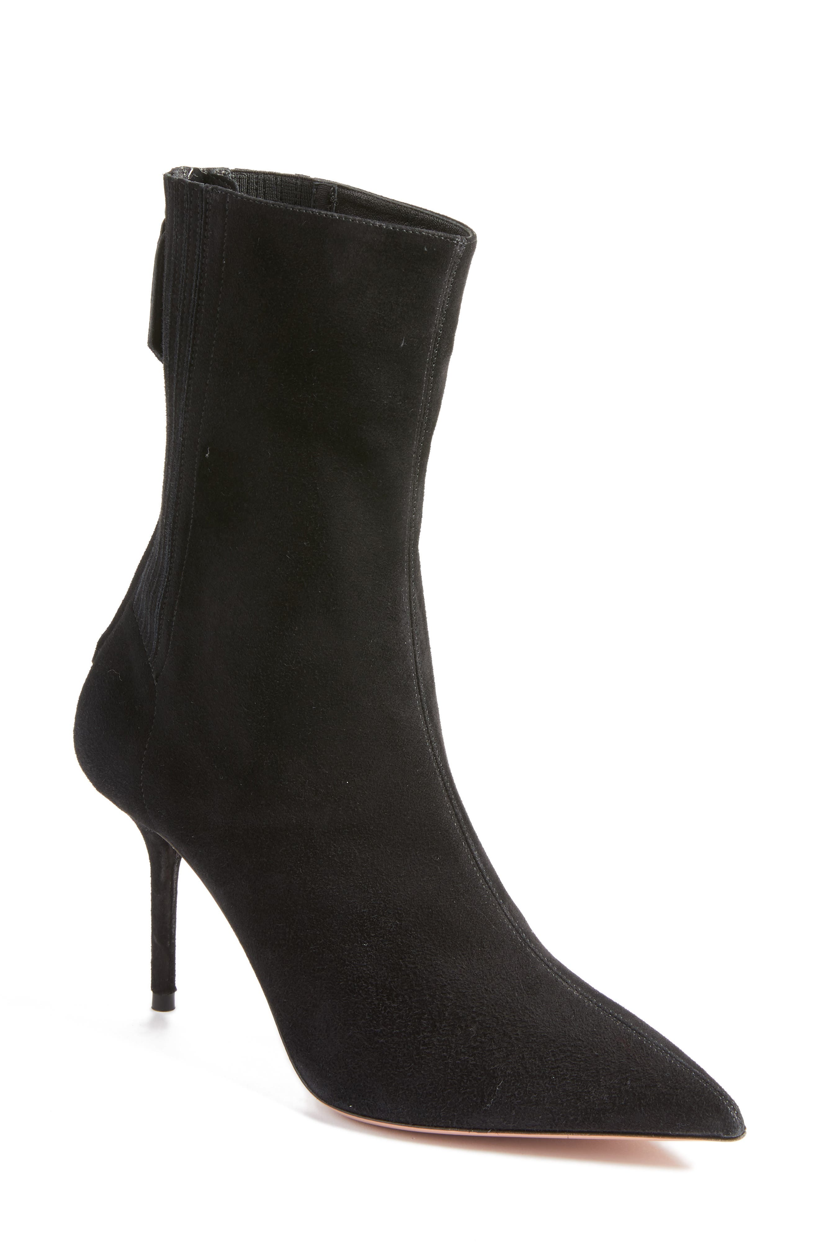 Saint Honore Pointy Toe Bootie,                             Main thumbnail 1, color,                             001