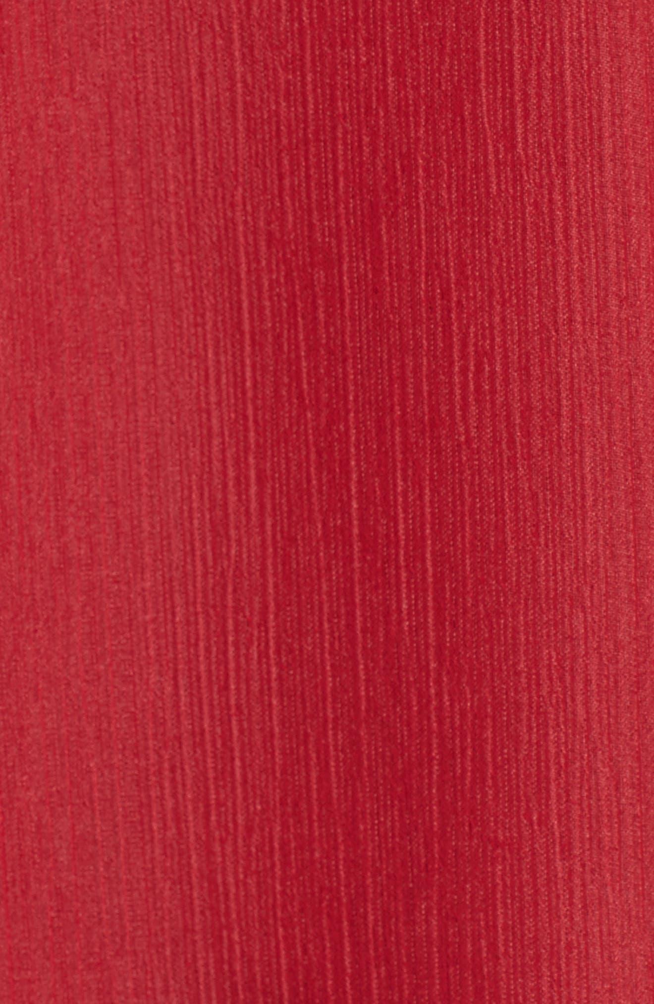 Ruffle One-Shoulder Blouse,                             Alternate thumbnail 10, color,
