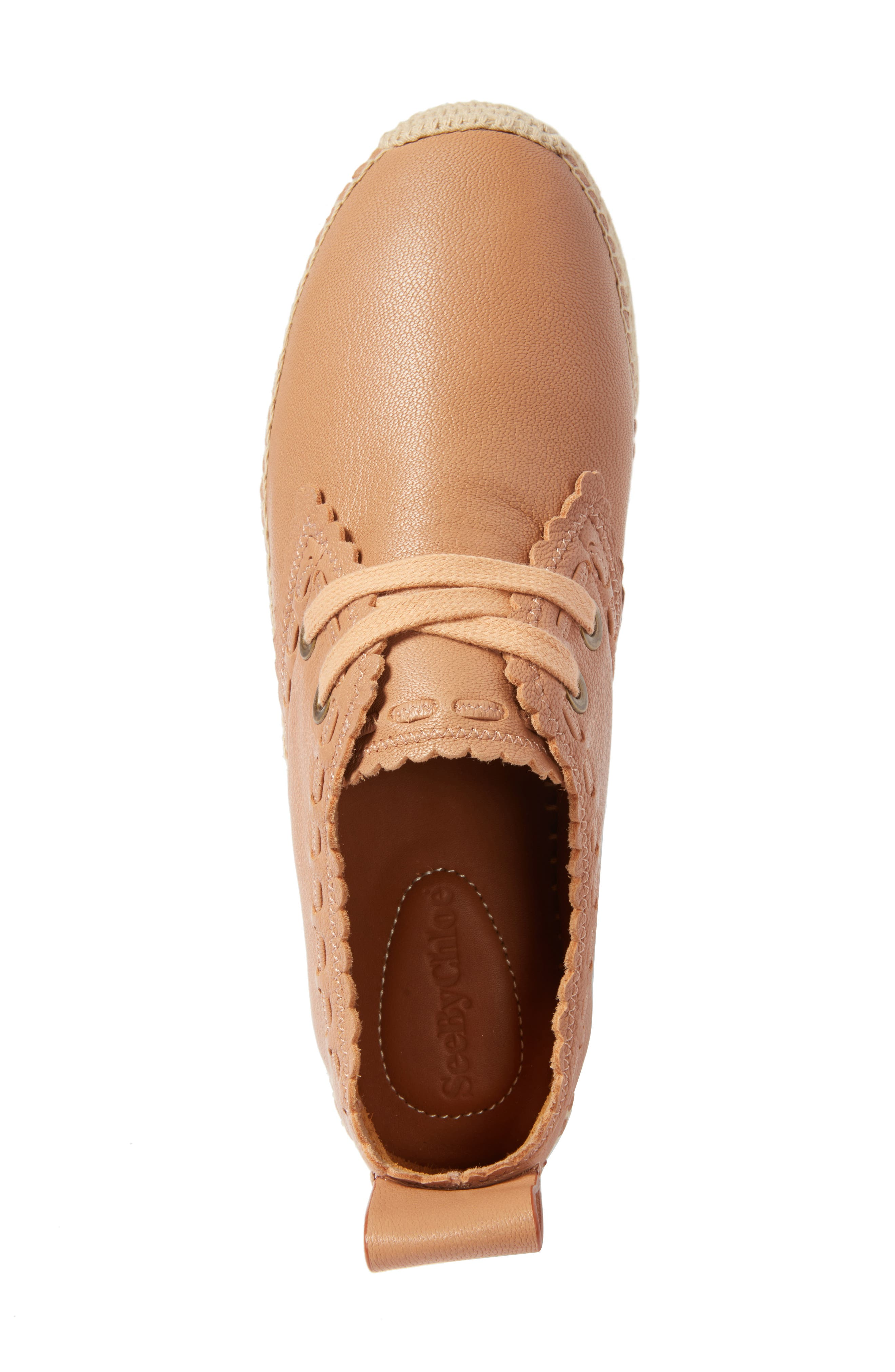 Glyn Espadrille,                             Alternate thumbnail 5, color,                             TOFFEE