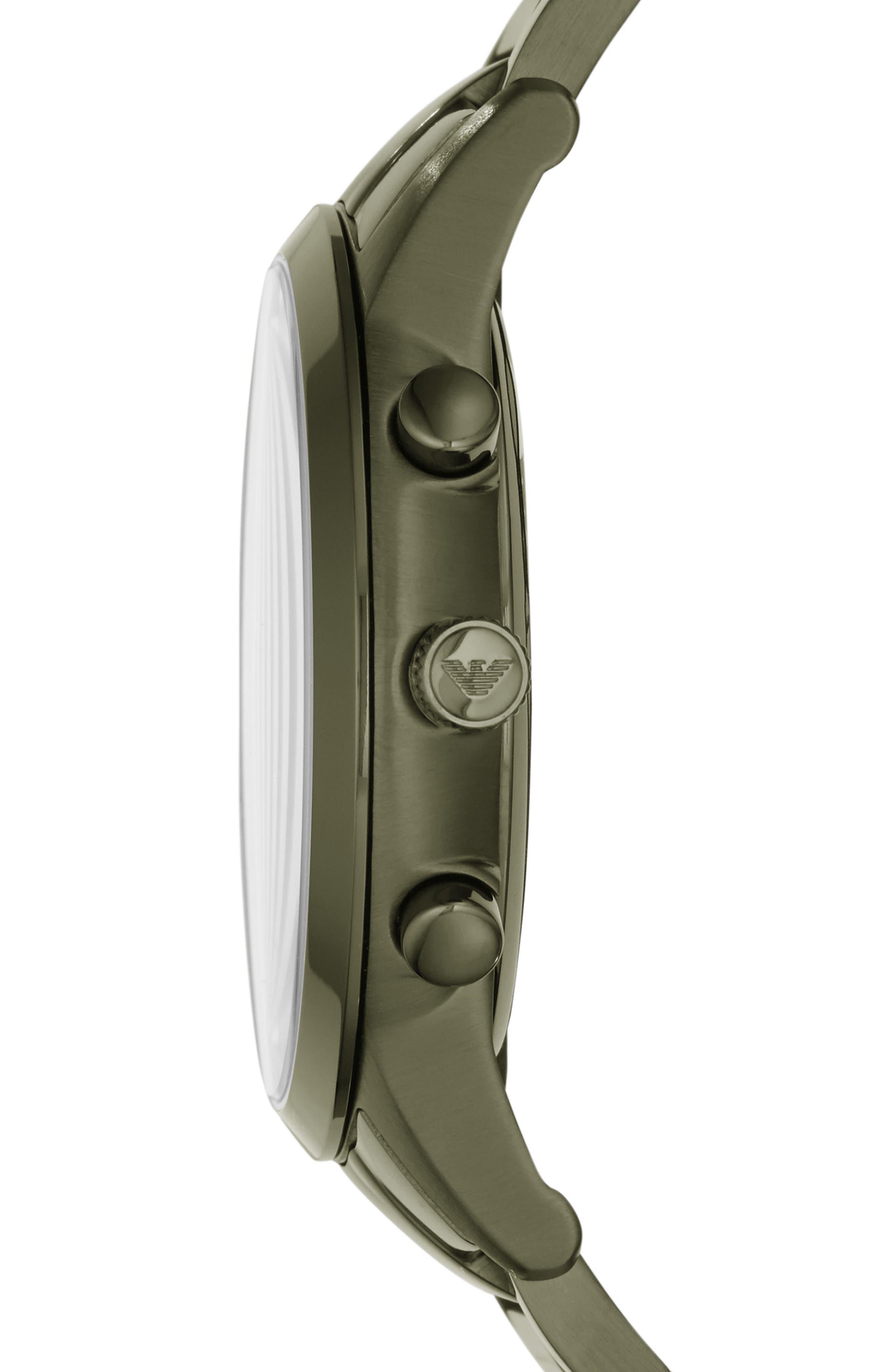 Chronograph Bracelet Watch, 43mm,                             Alternate thumbnail 2, color,                             301