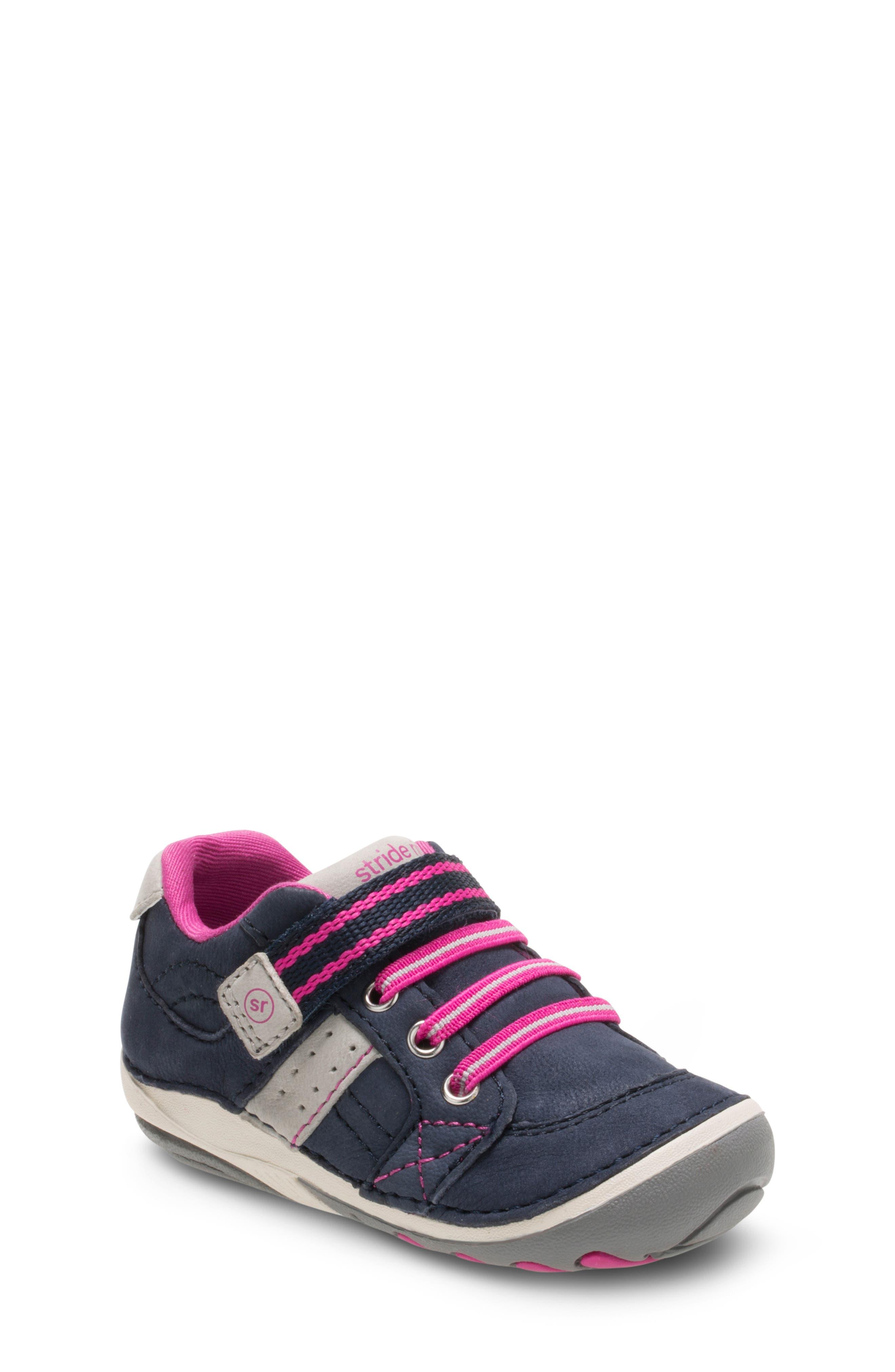 'Artie' Sneaker,                         Main,                         color, NAVY/ PINK