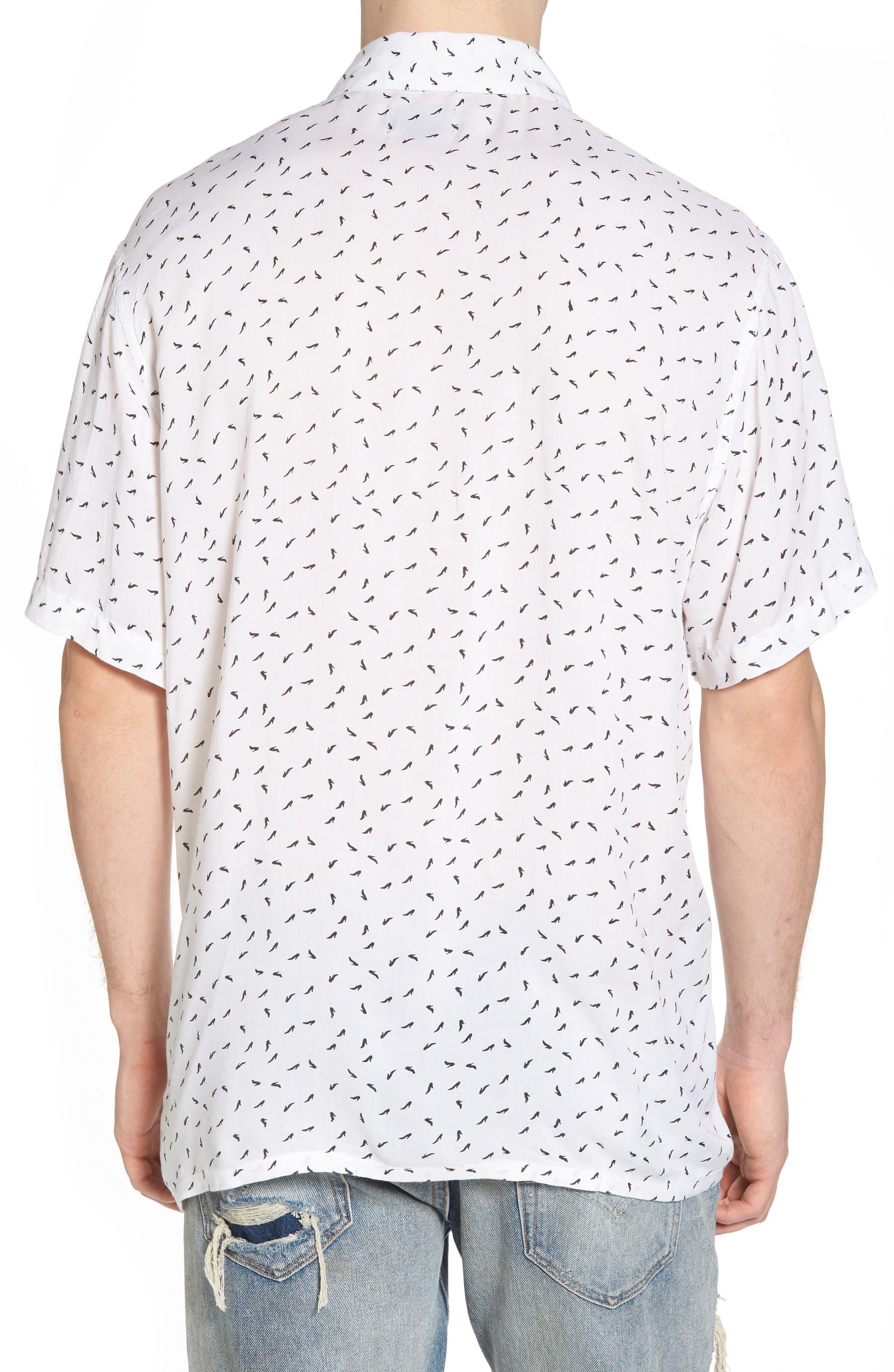 Pumps Short Sleeve Shirt,                             Alternate thumbnail 2, color,                             102