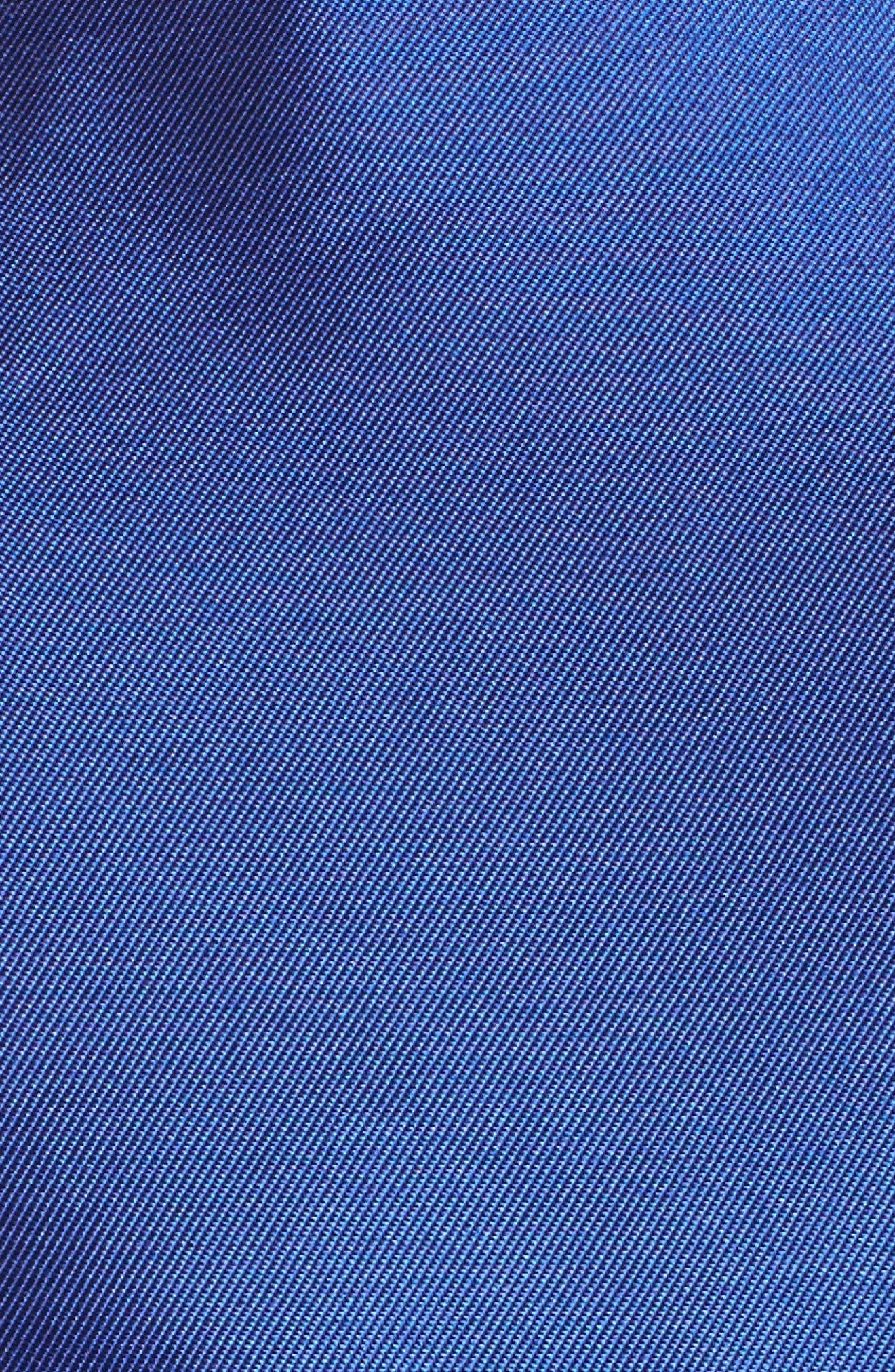 Square Neck Mikado Party Dress,                             Alternate thumbnail 5, color,                             415