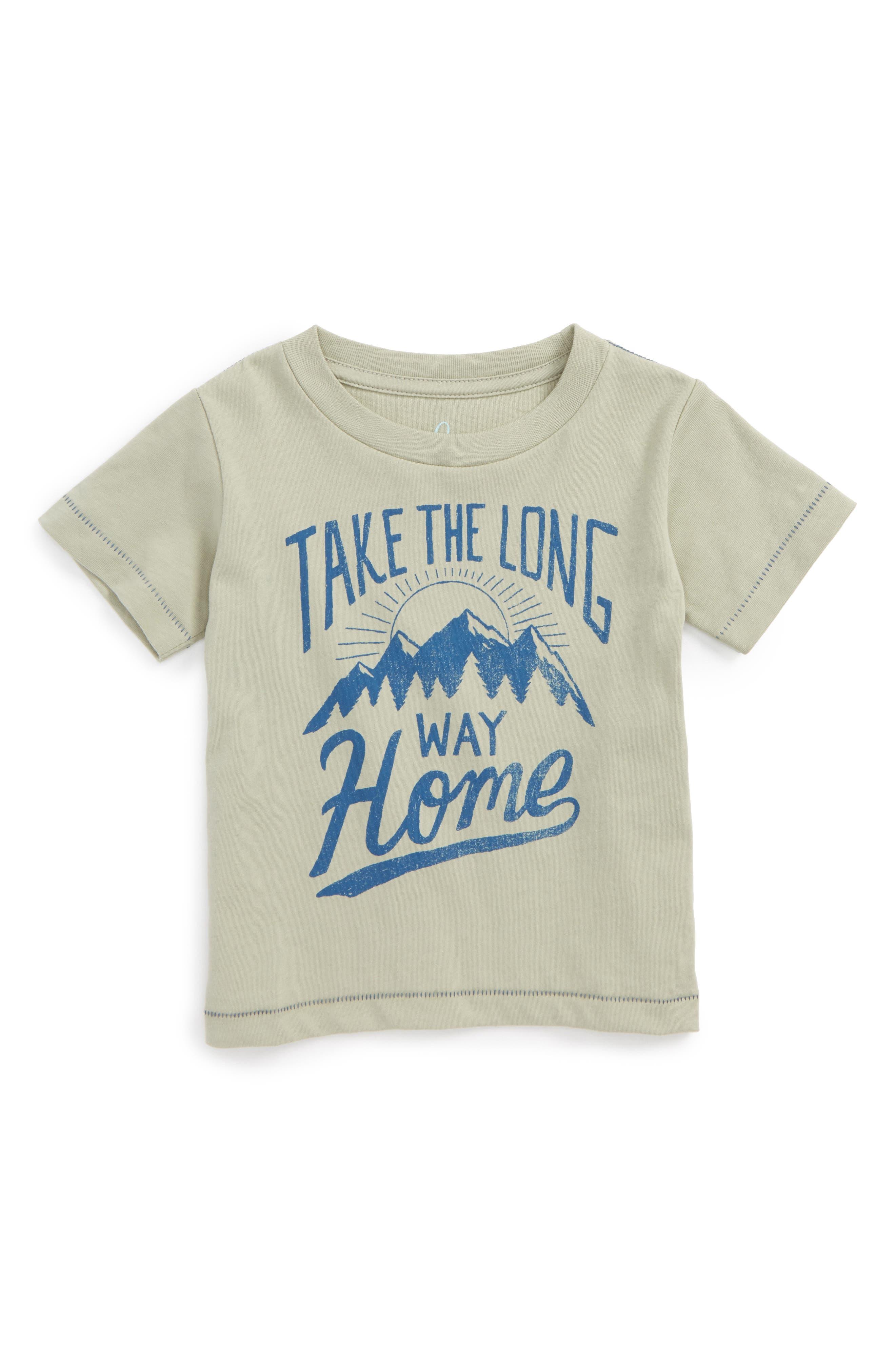 Take the Long Way Home Graphic T-Shirt,                             Main thumbnail 1, color,                             305