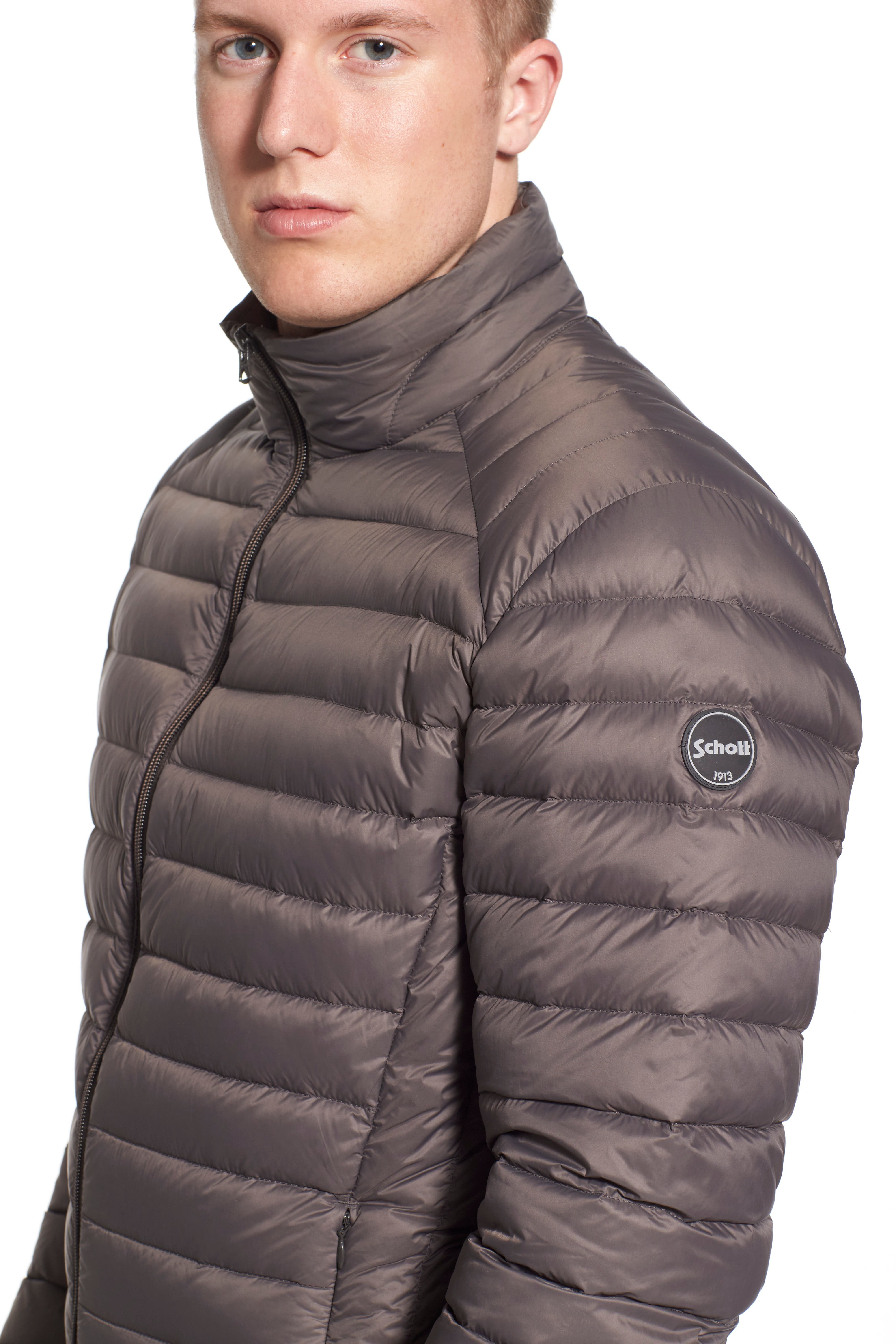 Quilted Down Jacket,                             Alternate thumbnail 15, color,