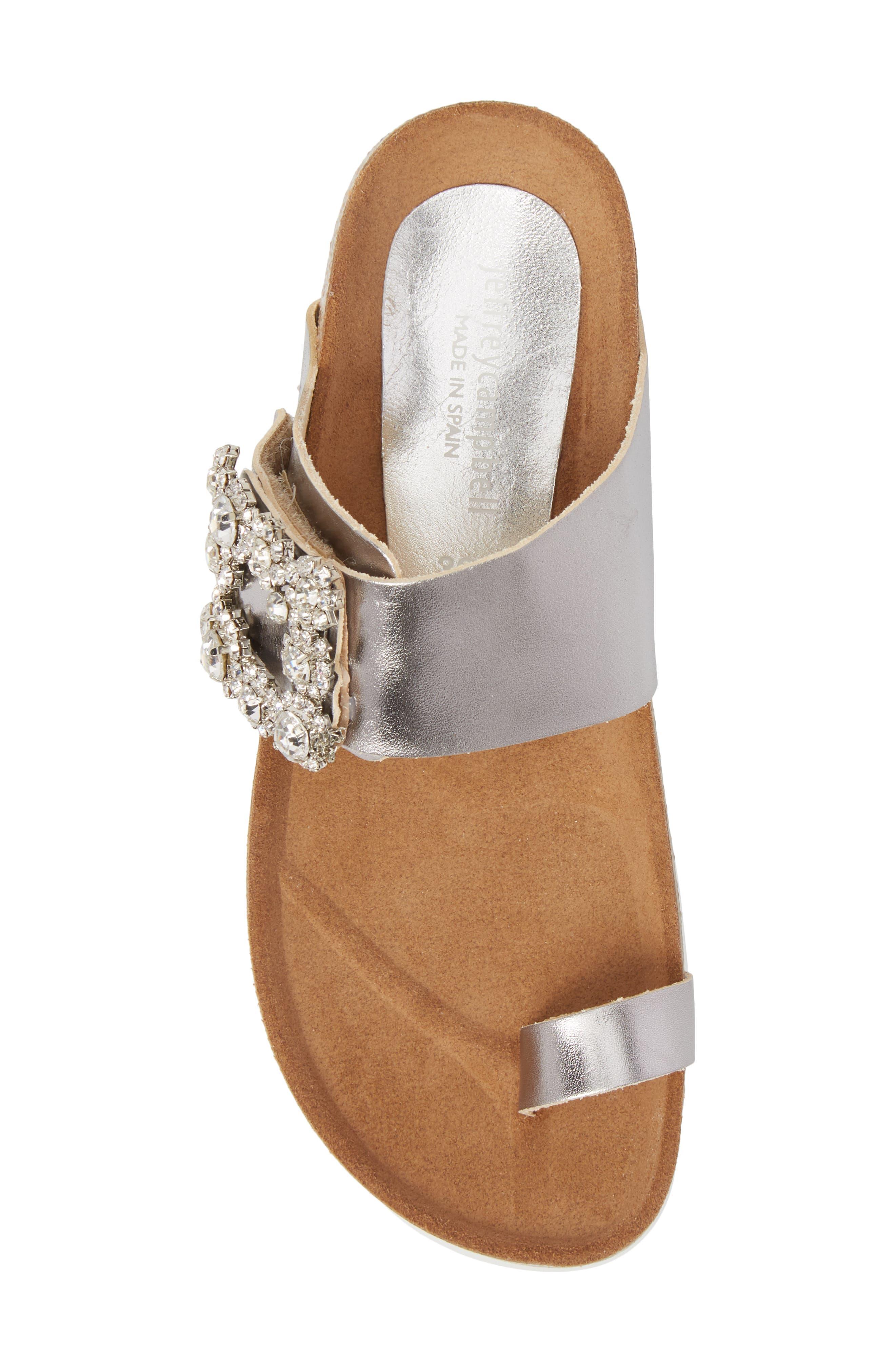 Bianca Embellished Slide Sandal,                             Alternate thumbnail 5, color,                             048