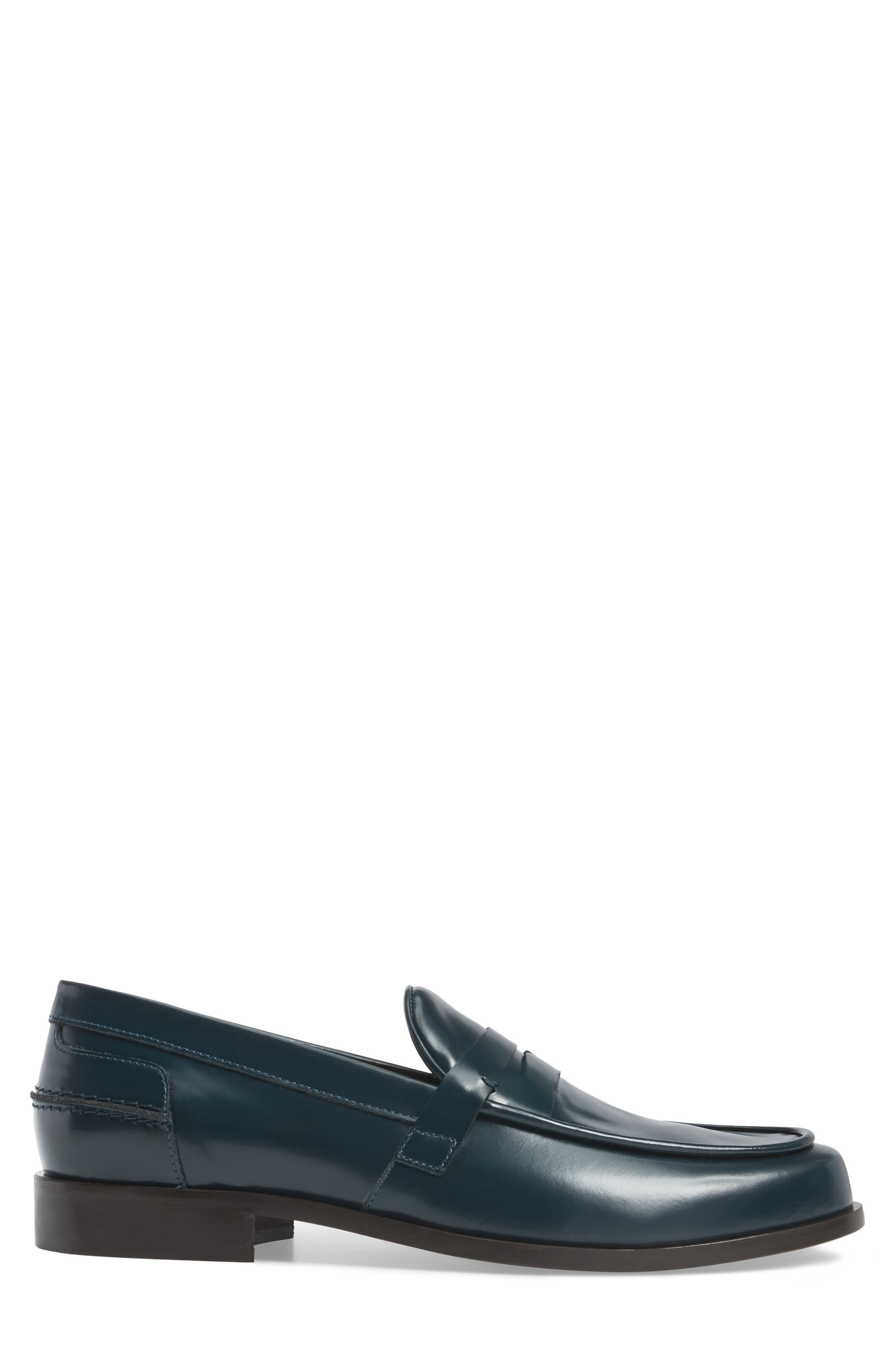 Donald J Pliner Sawyer Penny Loafer,                             Alternate thumbnail 6, color,
