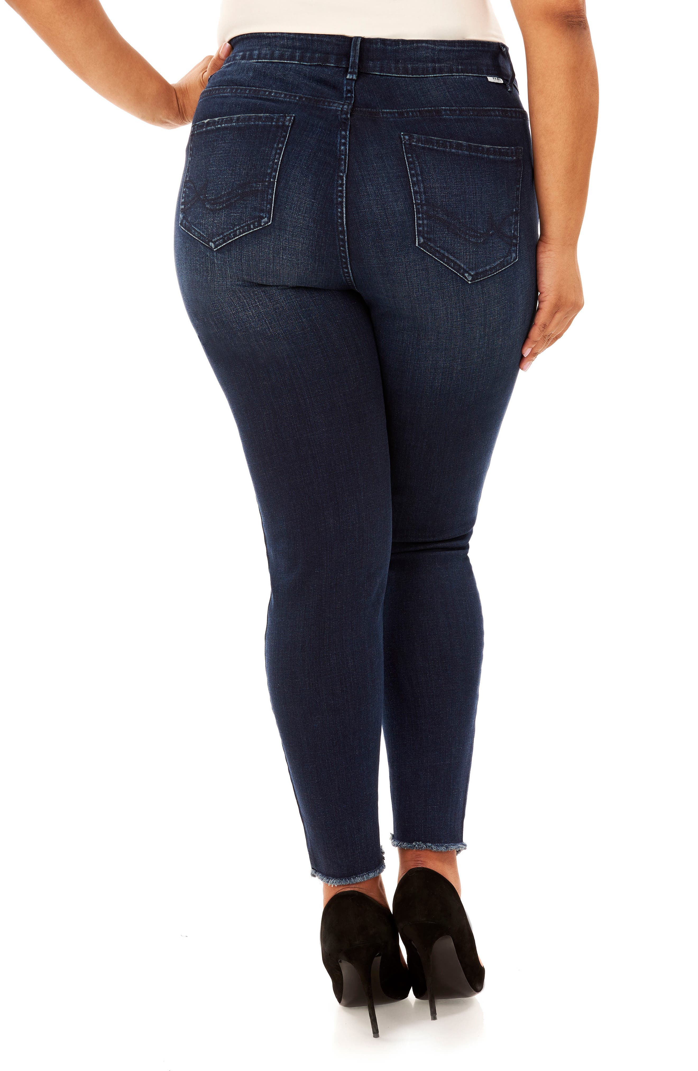 The Looker Skinny Jeans,                             Alternate thumbnail 2, color,