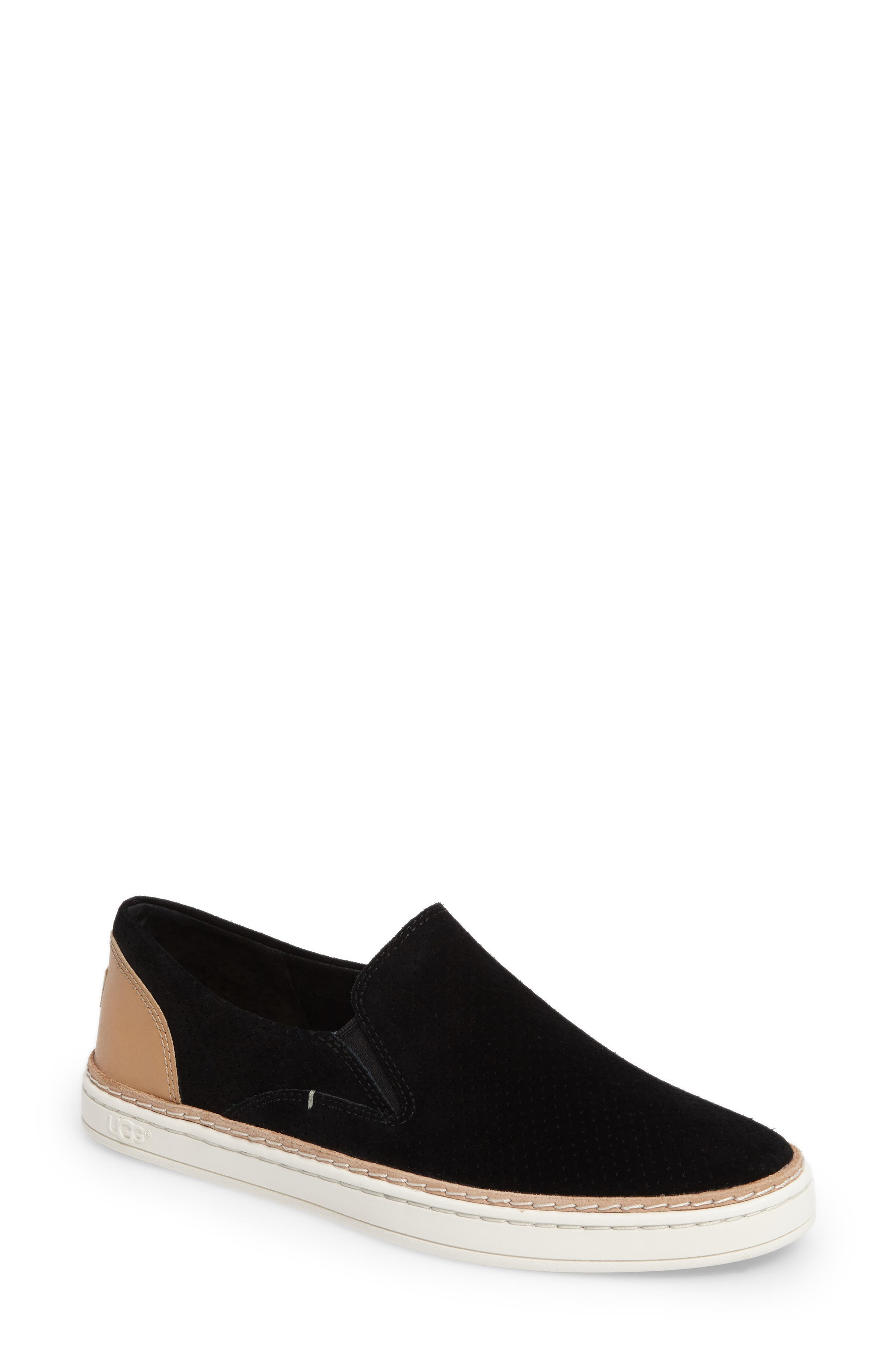 Adley Slip-On Sneaker,                             Main thumbnail 1, color,                             001