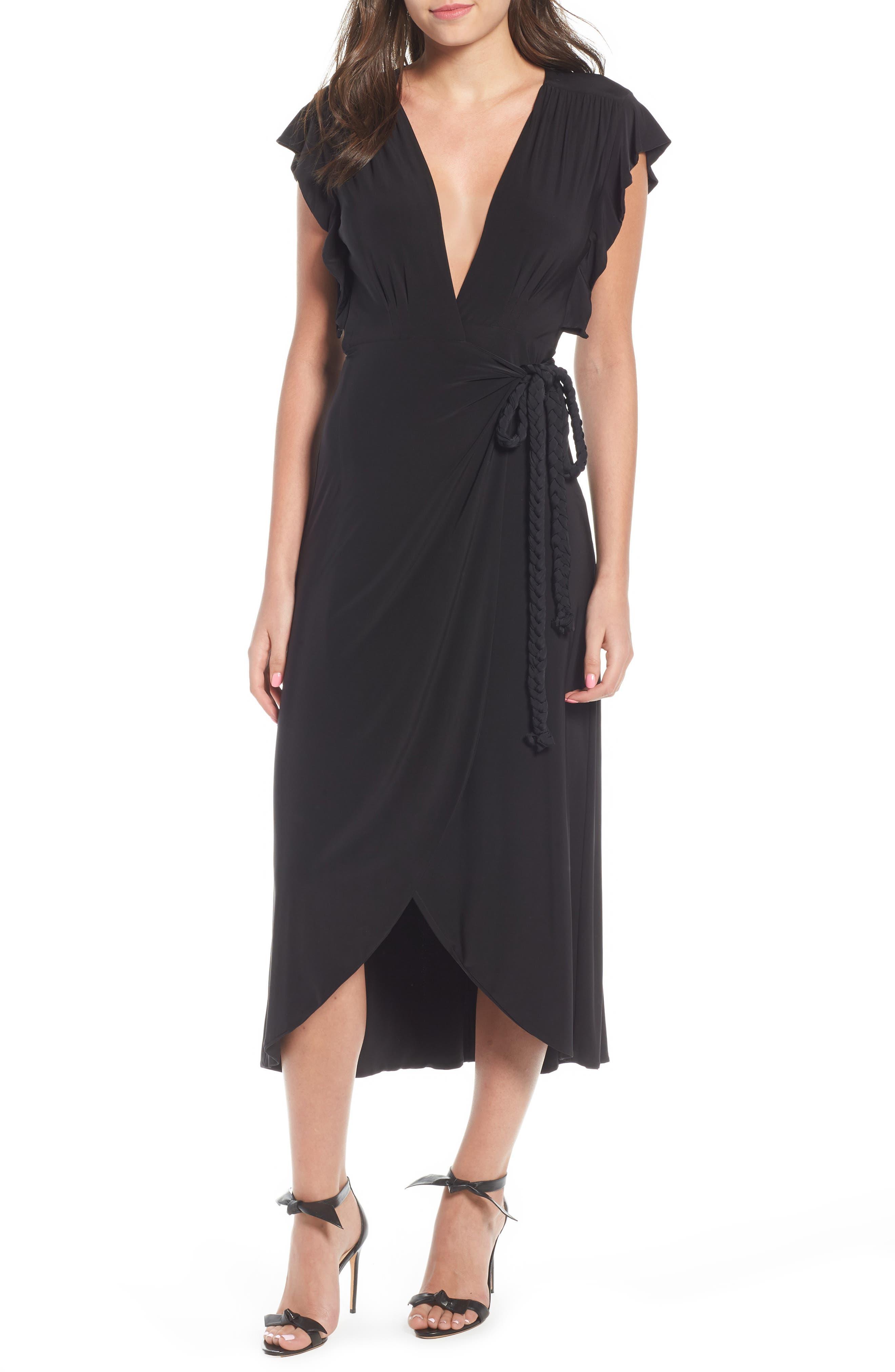 Irina Dress,                         Main,                         color, BLACK
