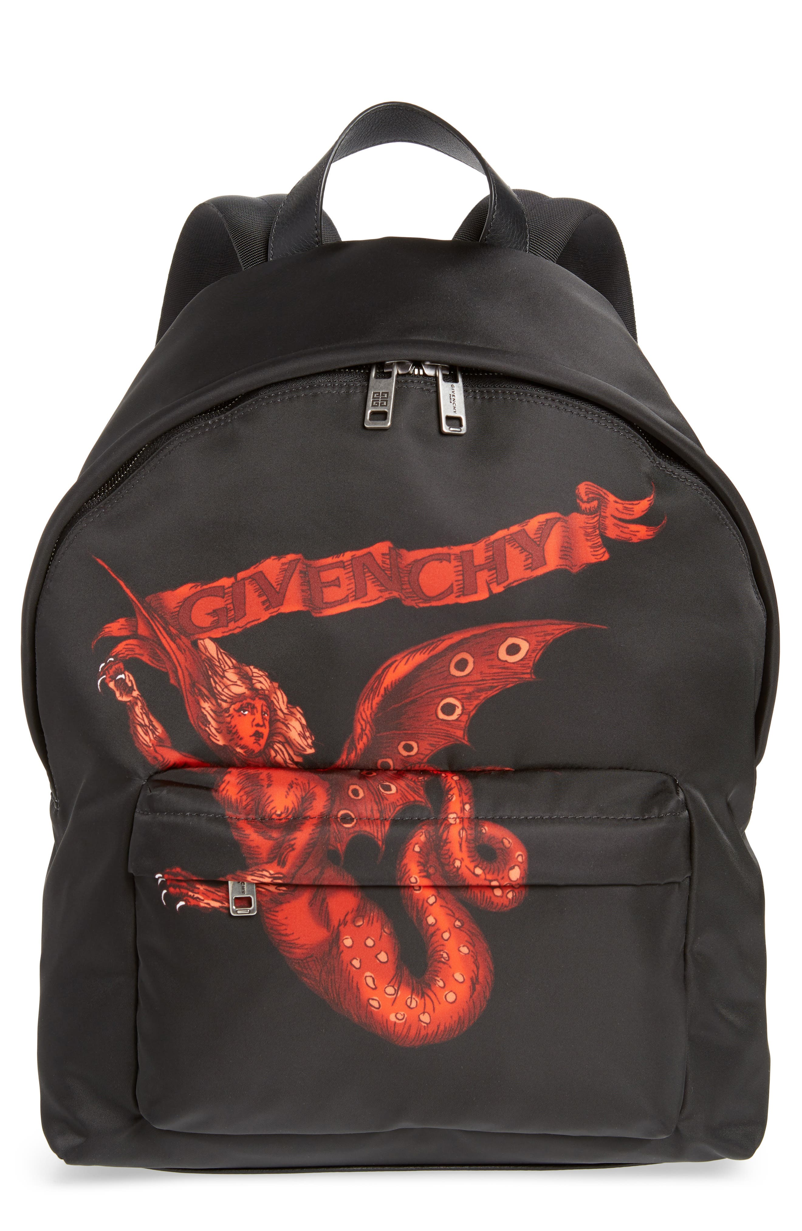Winged Beast Backpack,                             Main thumbnail 1, color,                             BLACK MULTI