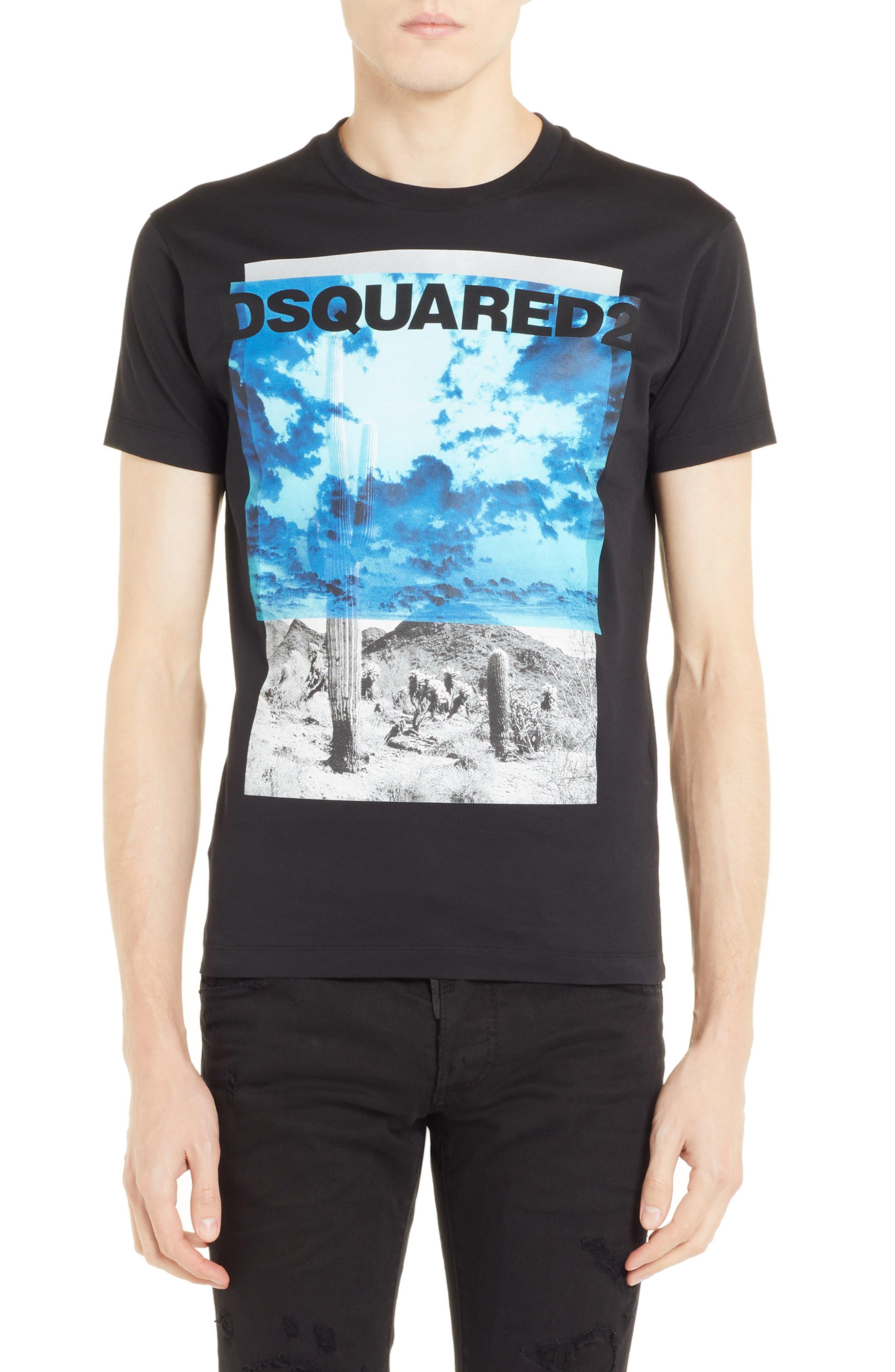 Picture Graphic T-Shirt,                             Main thumbnail 1, color,                             001