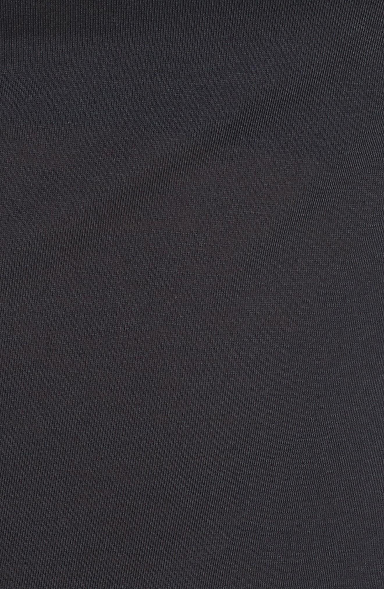 Whisperlight Long Sleeve Tee,                             Alternate thumbnail 6, color,                             001