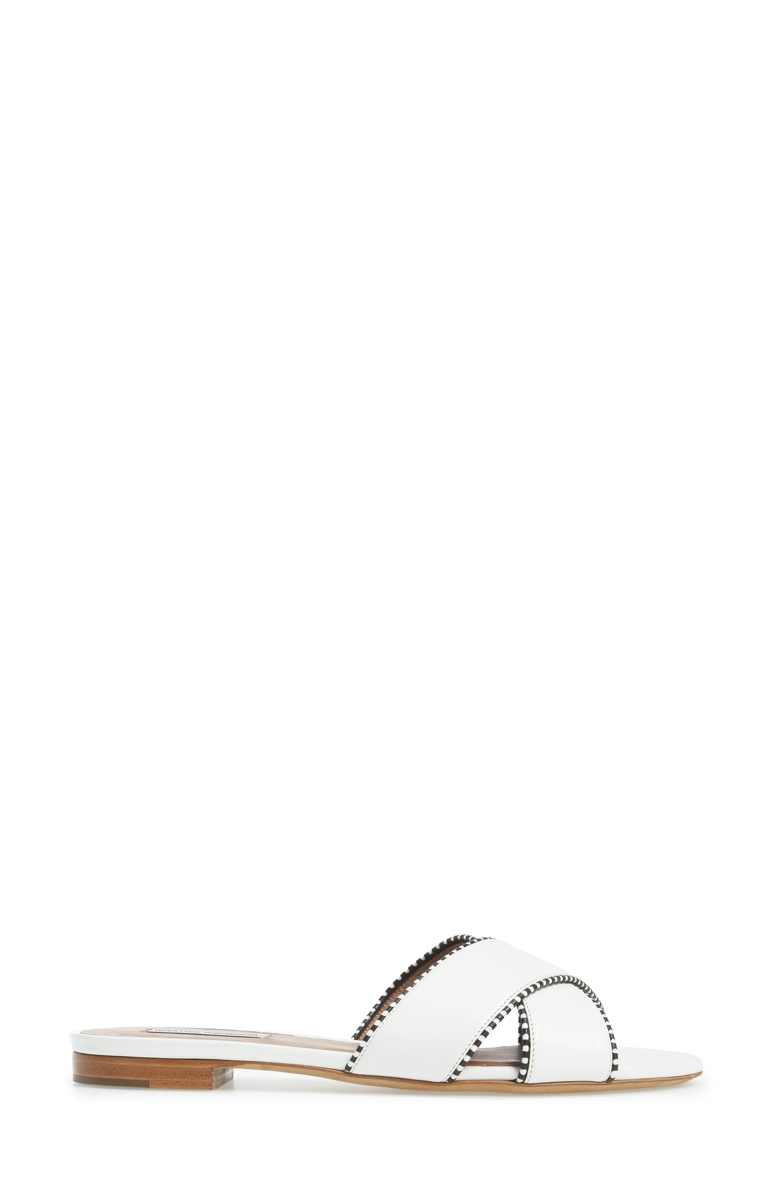 Lassie Profilo Slide Sandal,                             Alternate thumbnail 3, color,                             100